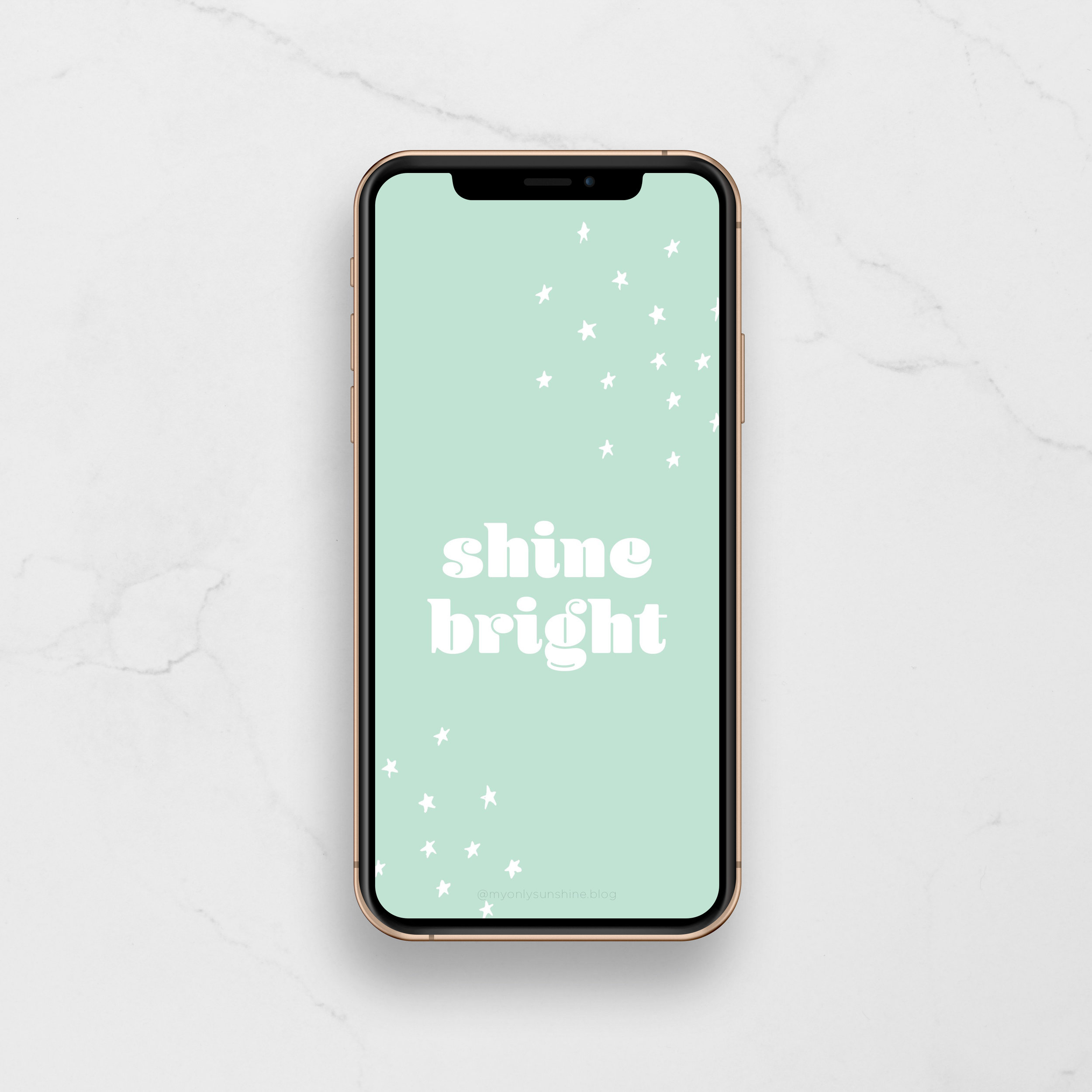 Free Phone Wallpapers | My Only Sunshine | Shine Bright