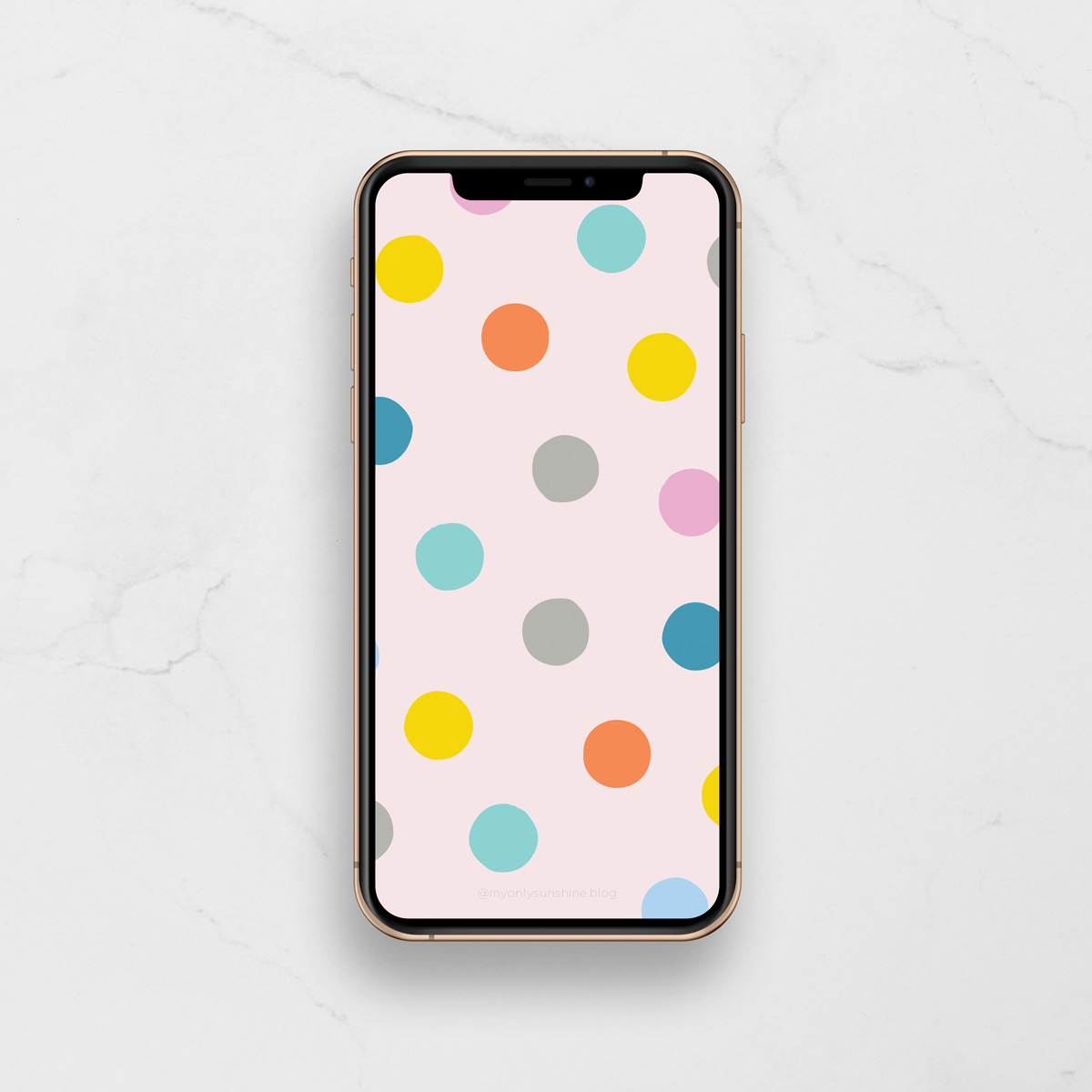 Free Phone Wallpapers | My Only Sunshine | Dots