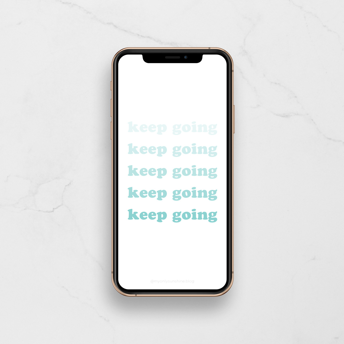 Free Phone Wallpapers | My Only Sunshine | Keep Going