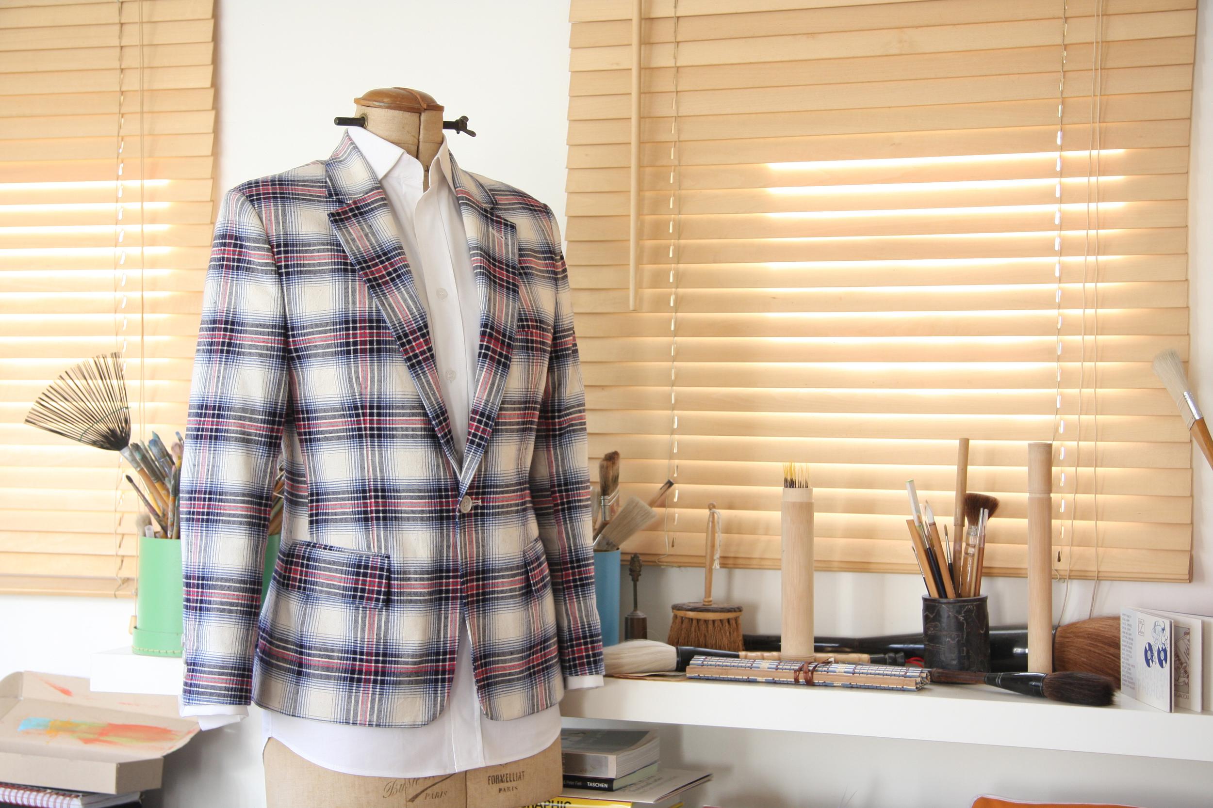 A Striiiipes jacket