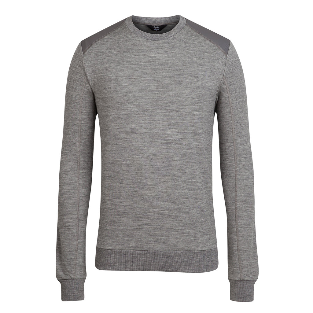 Rapha Merino Sweatshirt:Sturdy and warm.