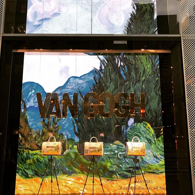 #louisvuitton #vangogh #nyc