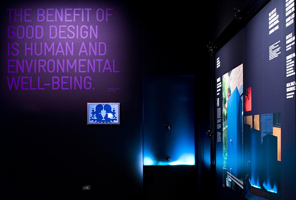 Premier's design awards exhibition