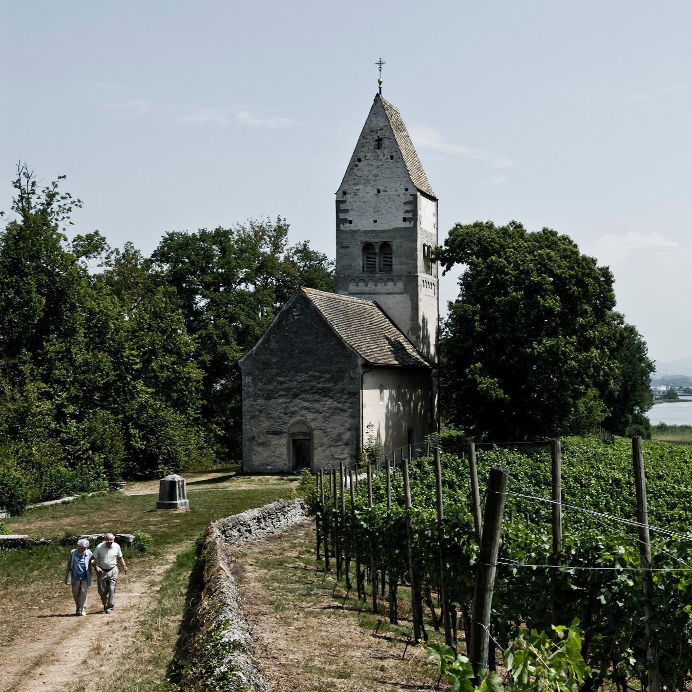 Kirche auf Insel Ufnau Schwyz