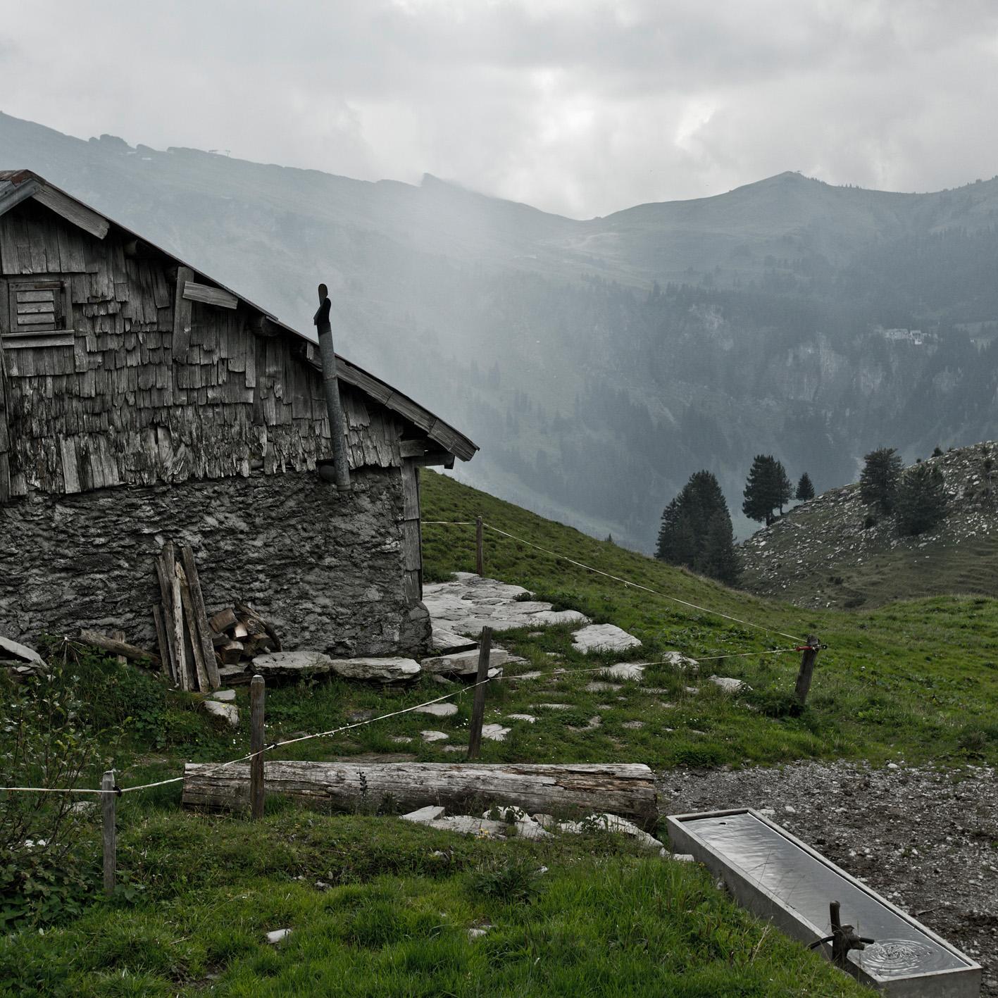 Alphütte Hochybrig Schwyz