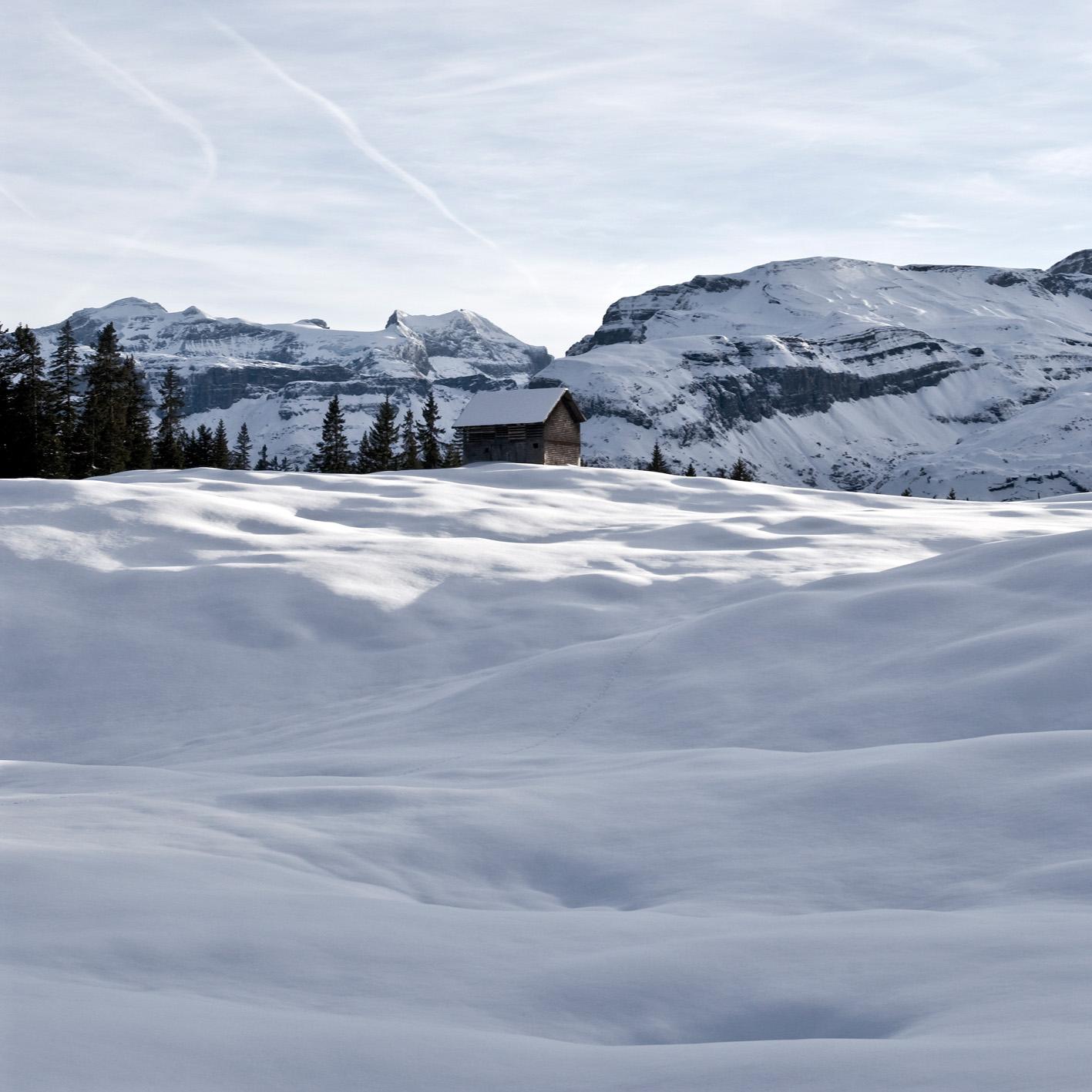 Alphütte Vorder Saum Muotatal Schwyz