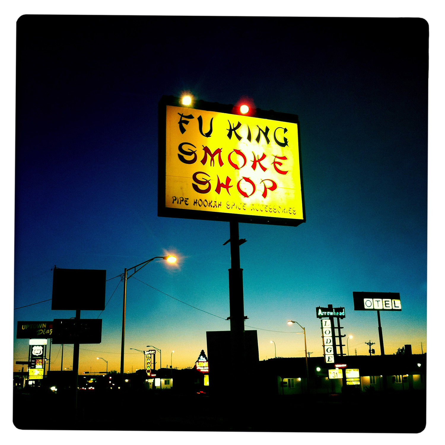 Fu King Smokeshop in Gallup NW New Mexico