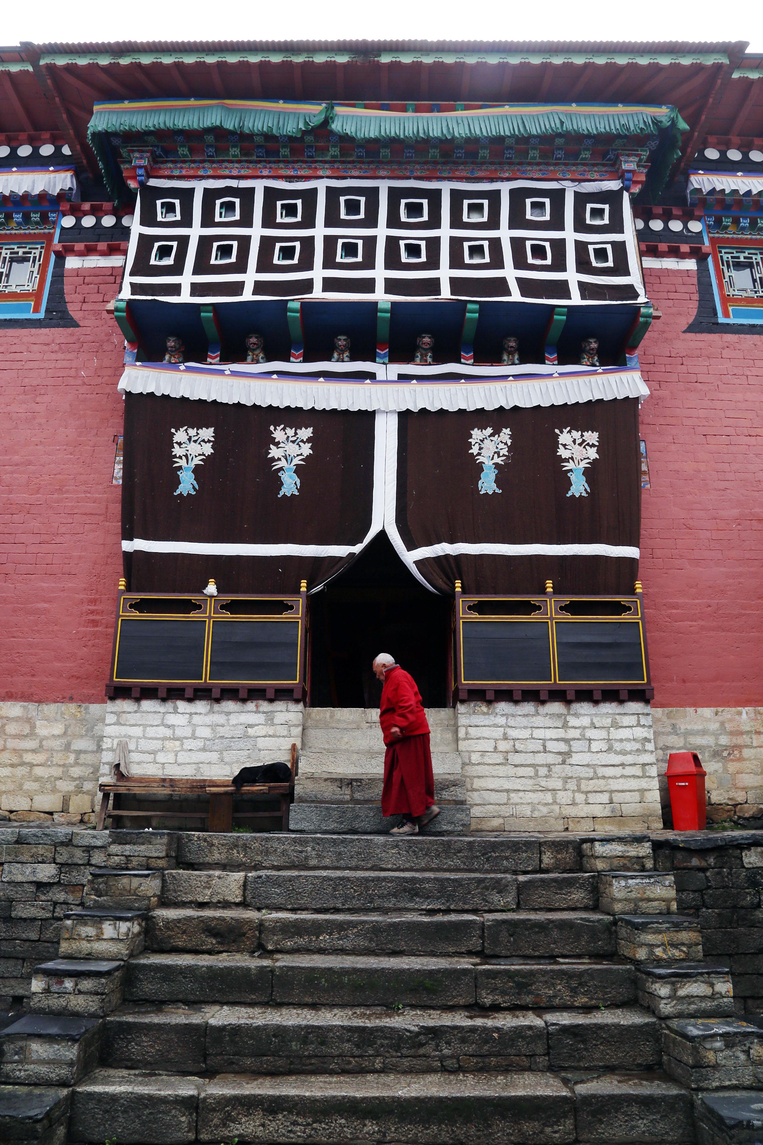 Tengboche monastery, Nepal. June 2013