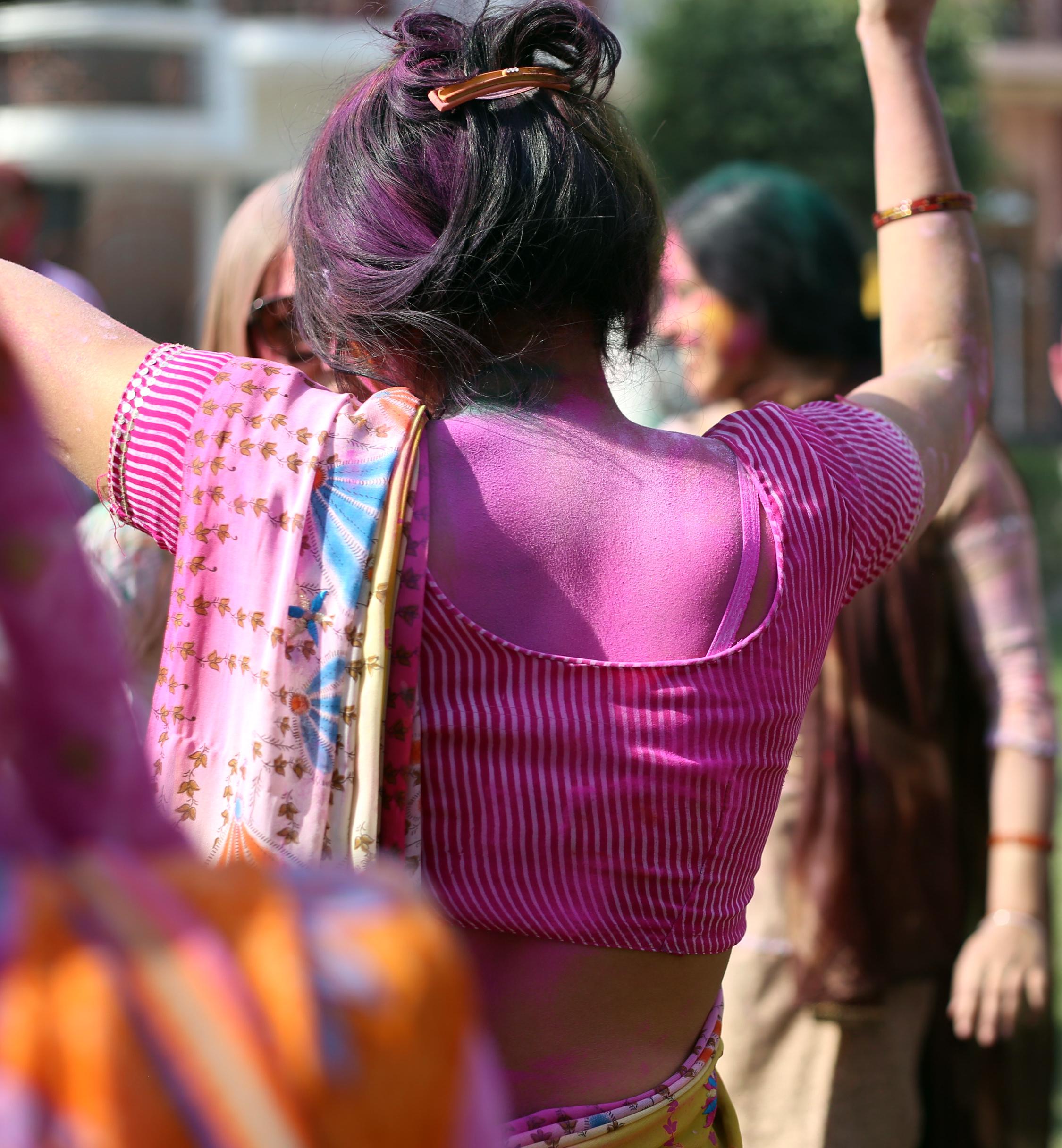 Holi - Mathura, India