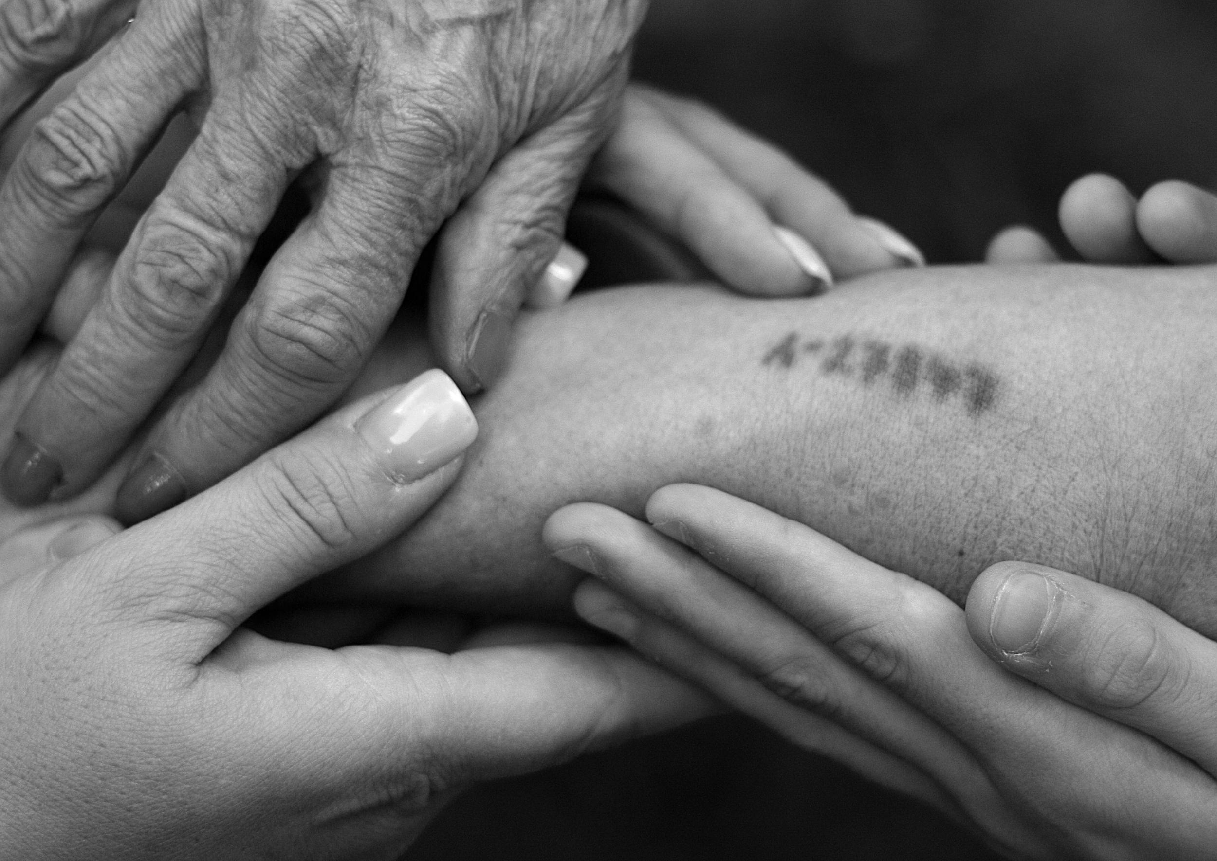 Three generations - Holocaust Survivor