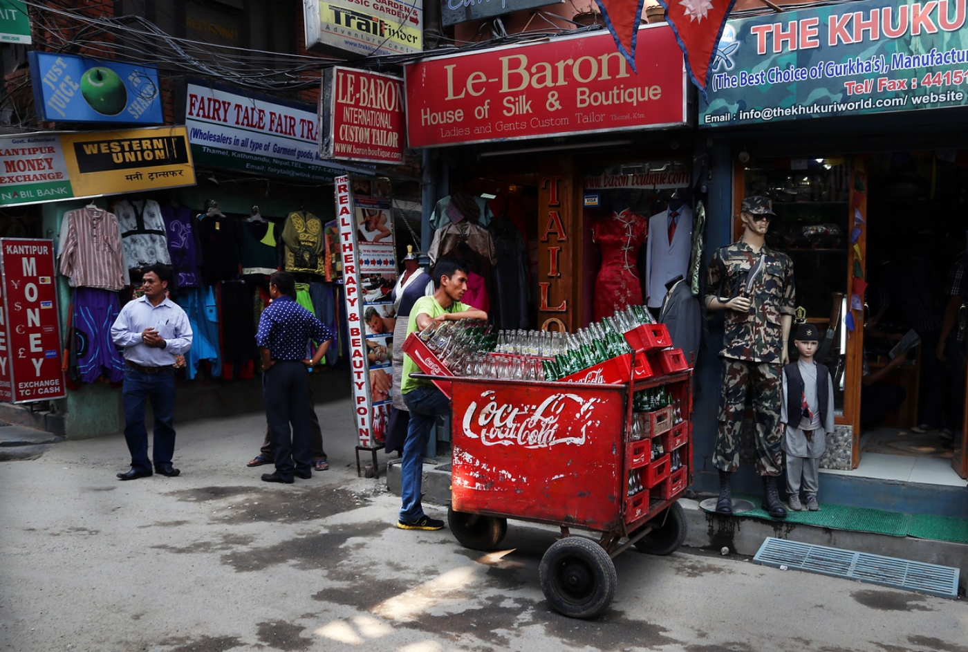 Refreshing - Kathmandu, Nepal
