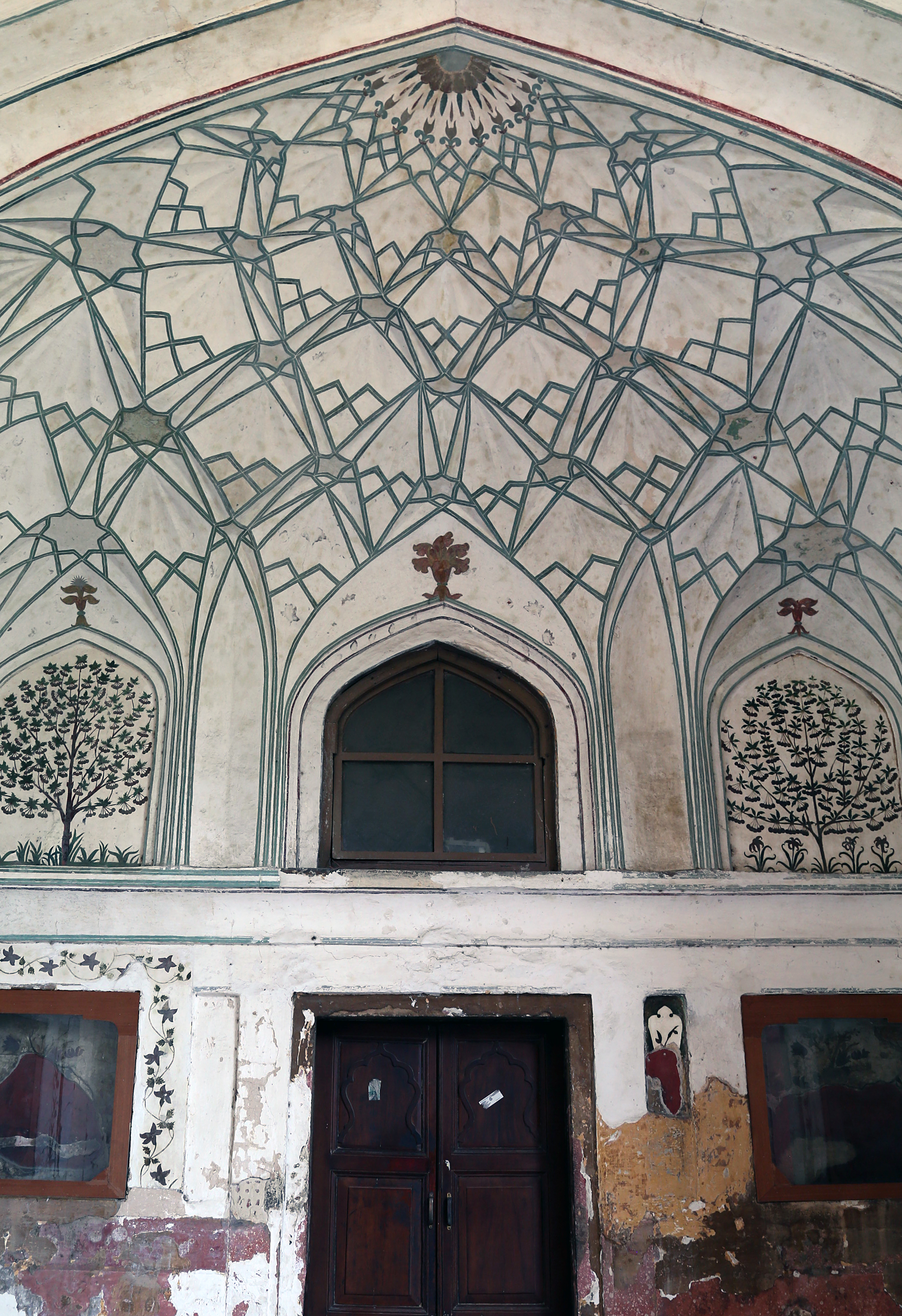 Entry way to Red Fort