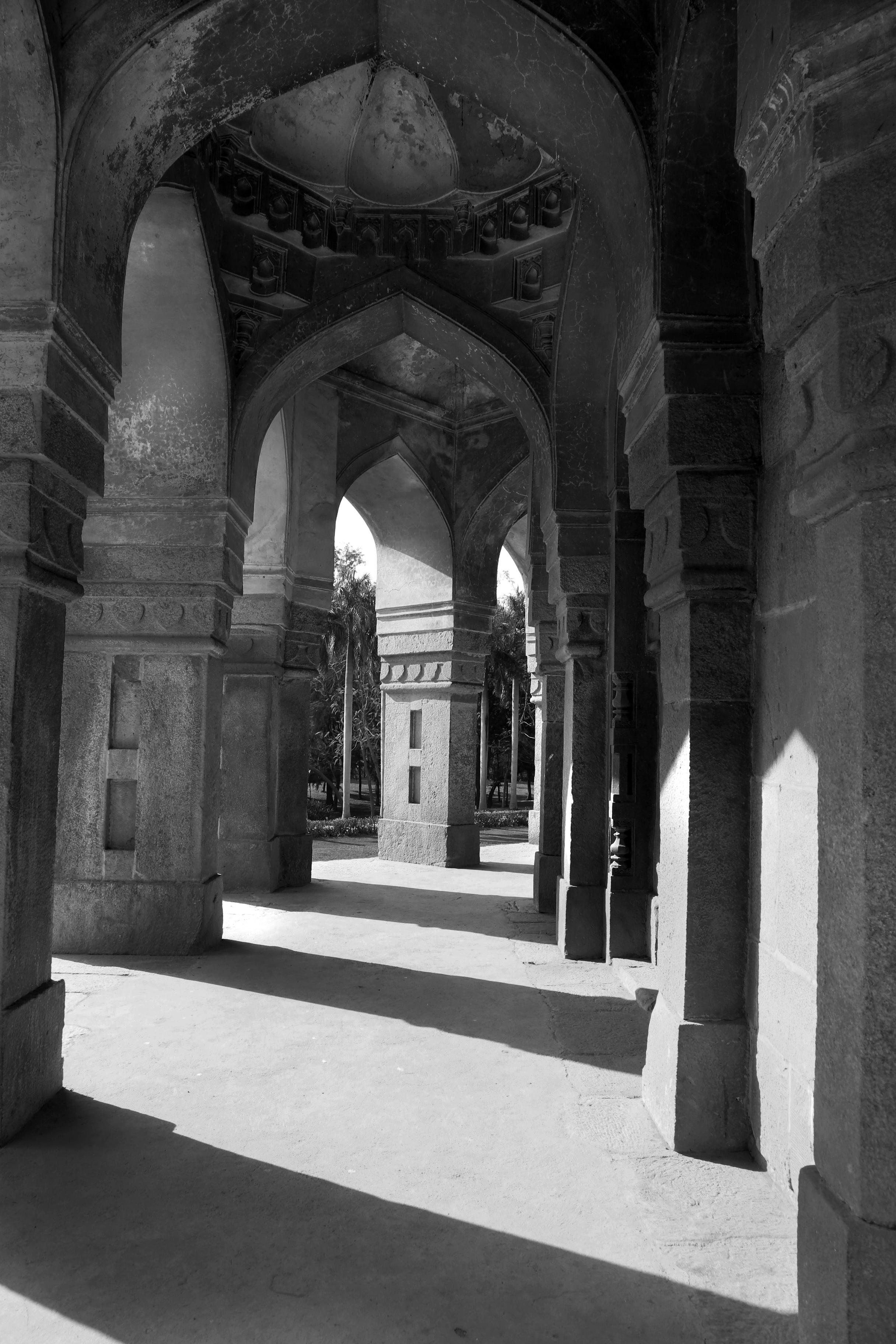 Shadows in Lodhi Gardens