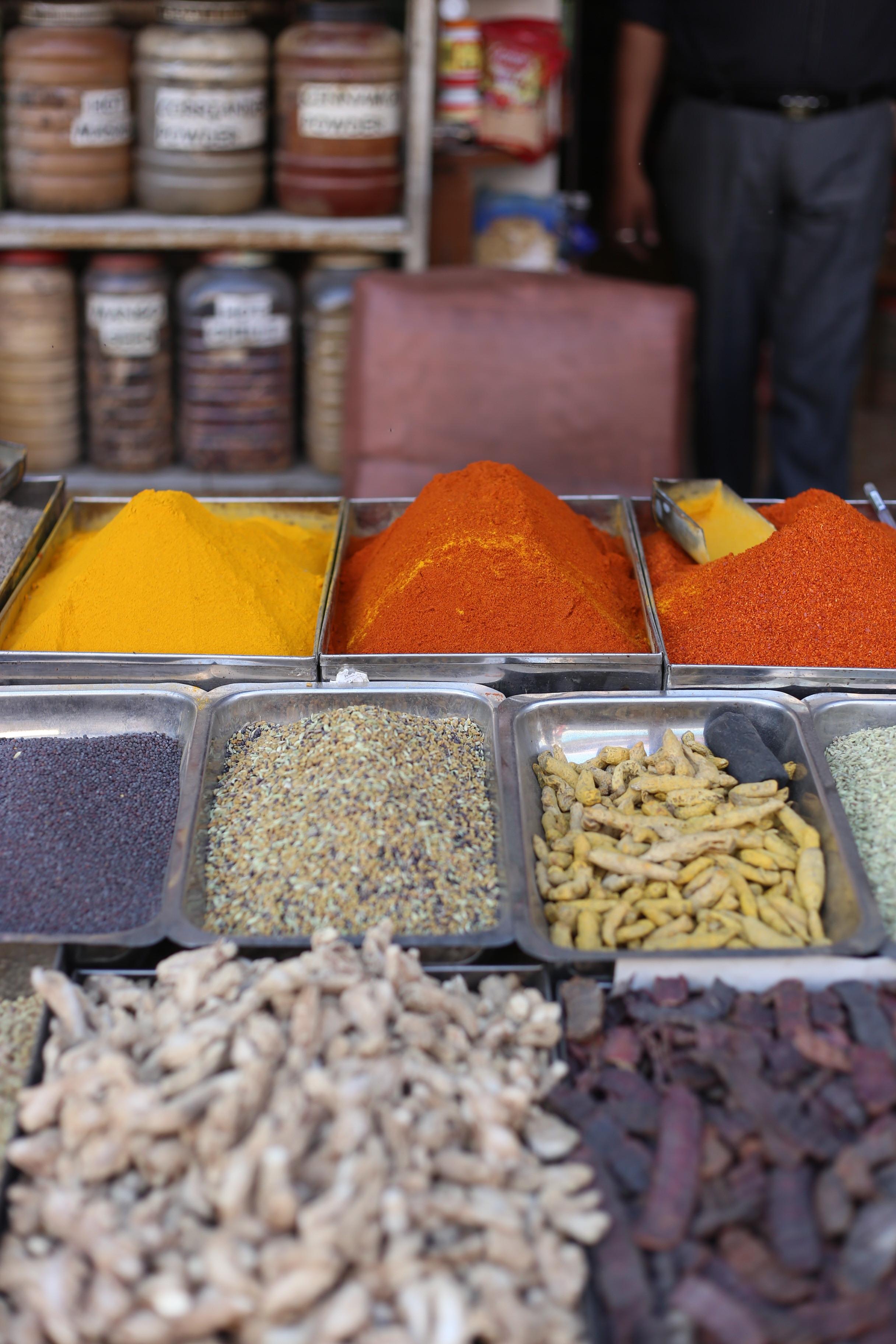 Spices in the Main Bazaar
