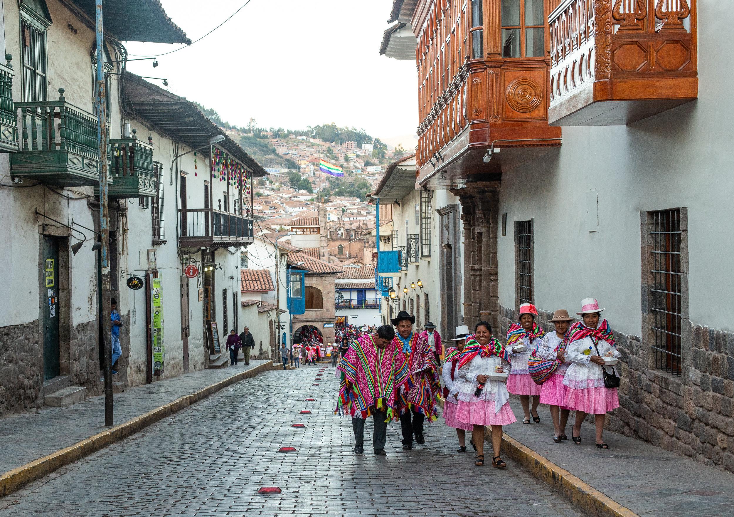 Post Parade - Cusco