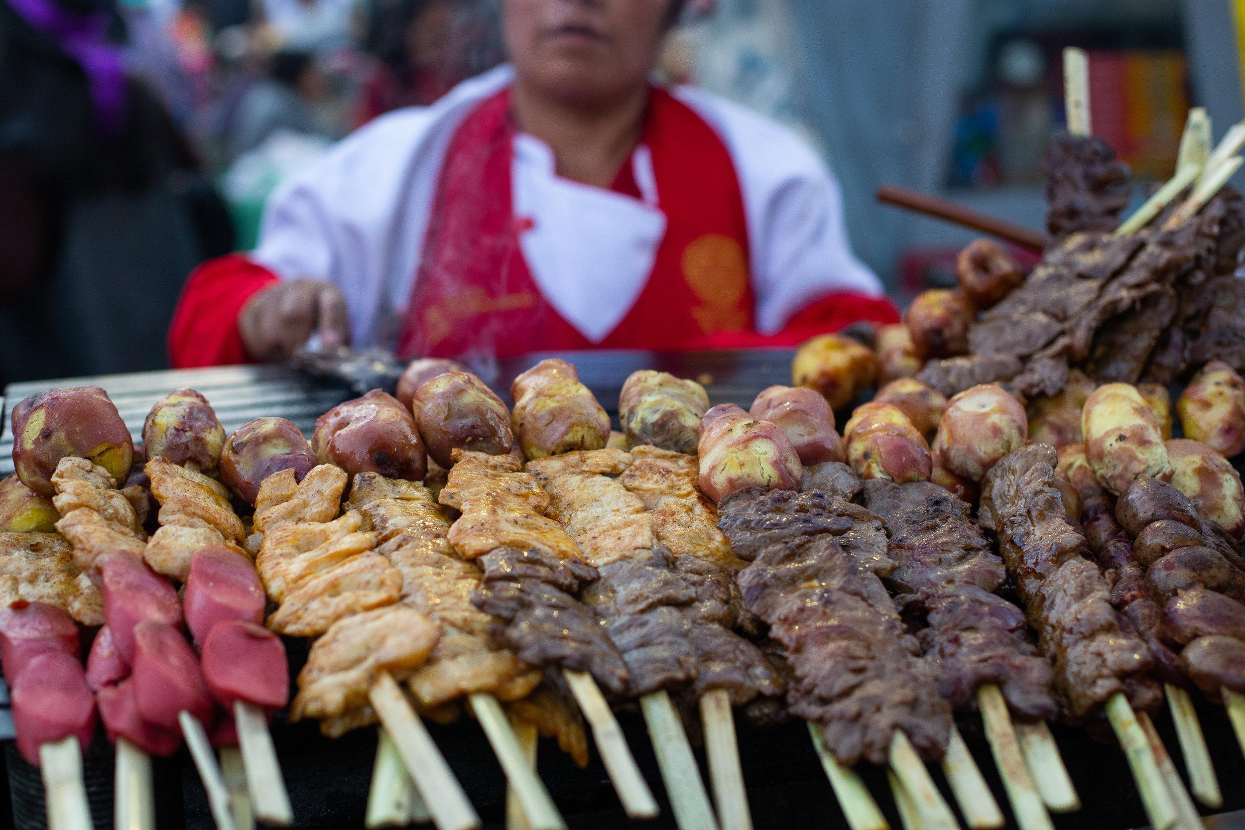 Street Meat - Cusco