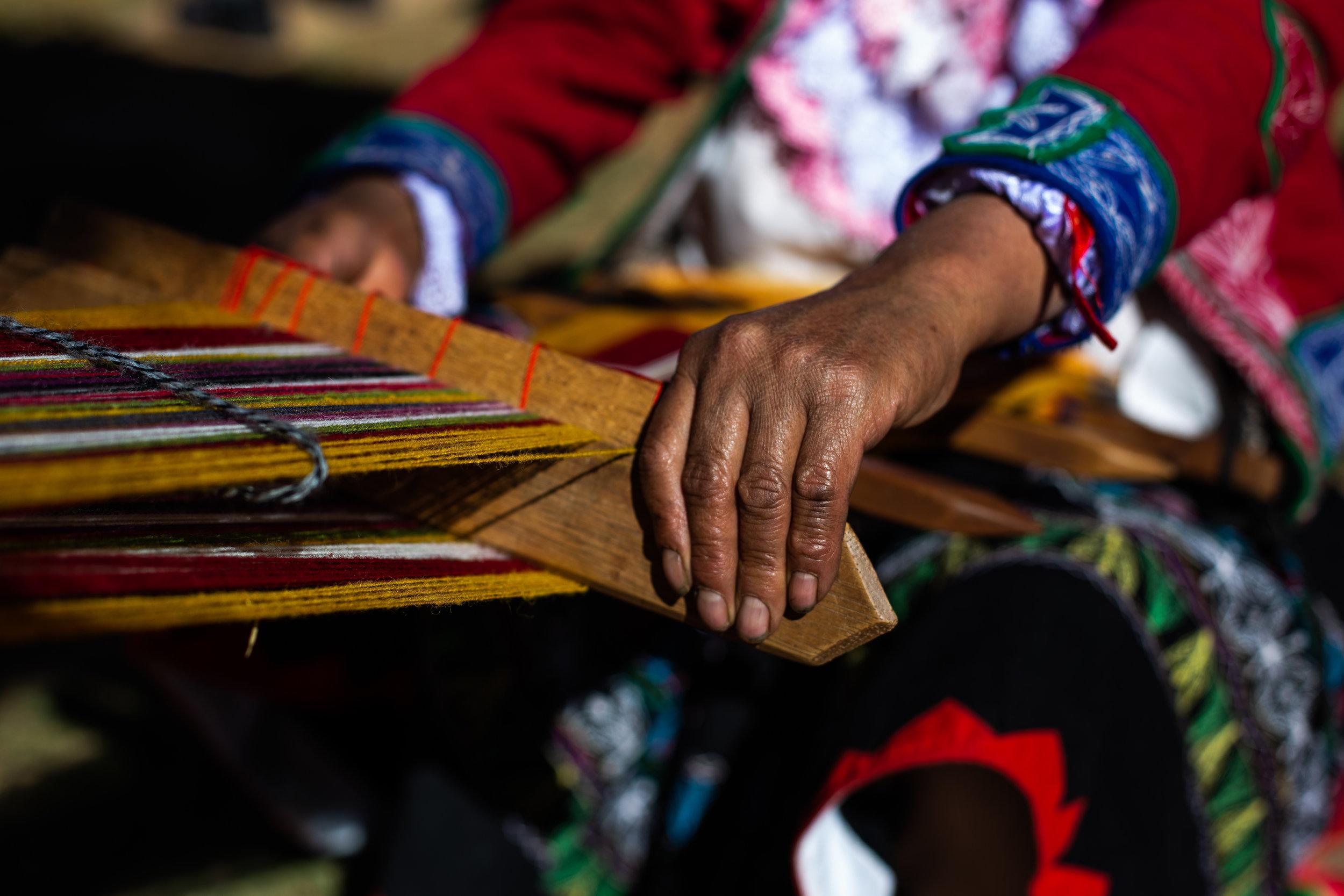 Weave Master 2 - Ollantaytambo, Cusco Region