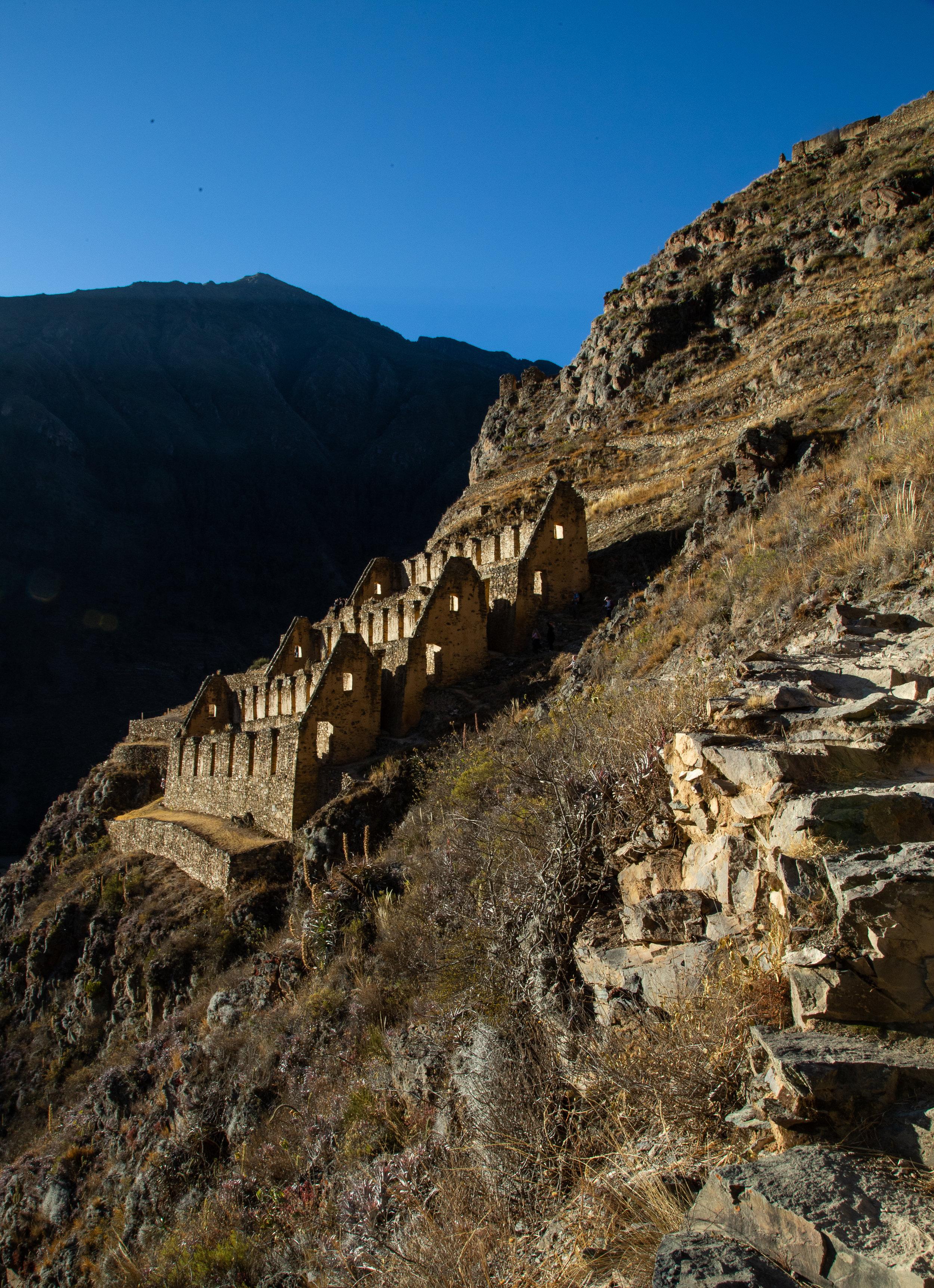 Hiking Ruins - Ollantaytambo, Cusco Region
