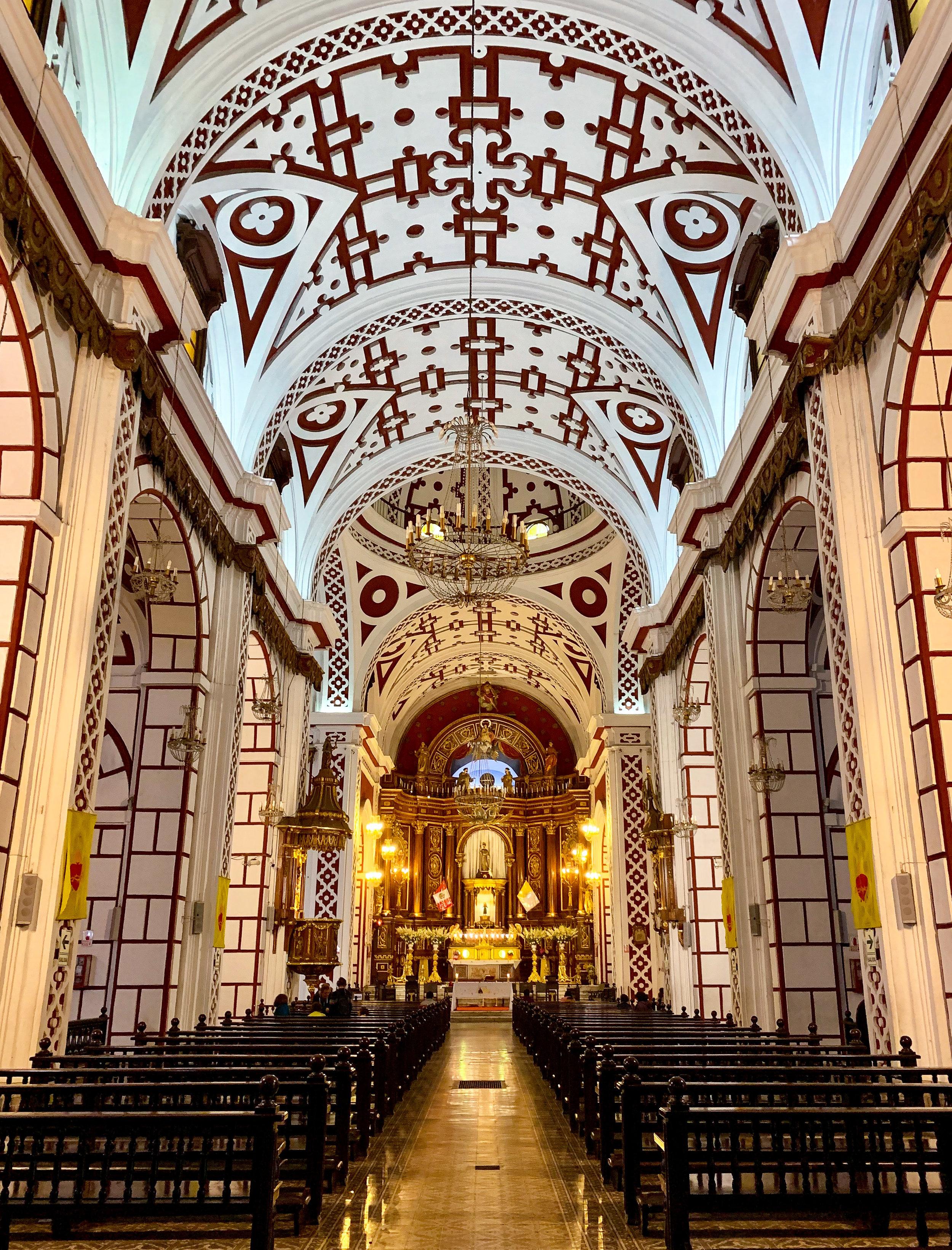 Basilica and Convent of San Francisco - Lima
