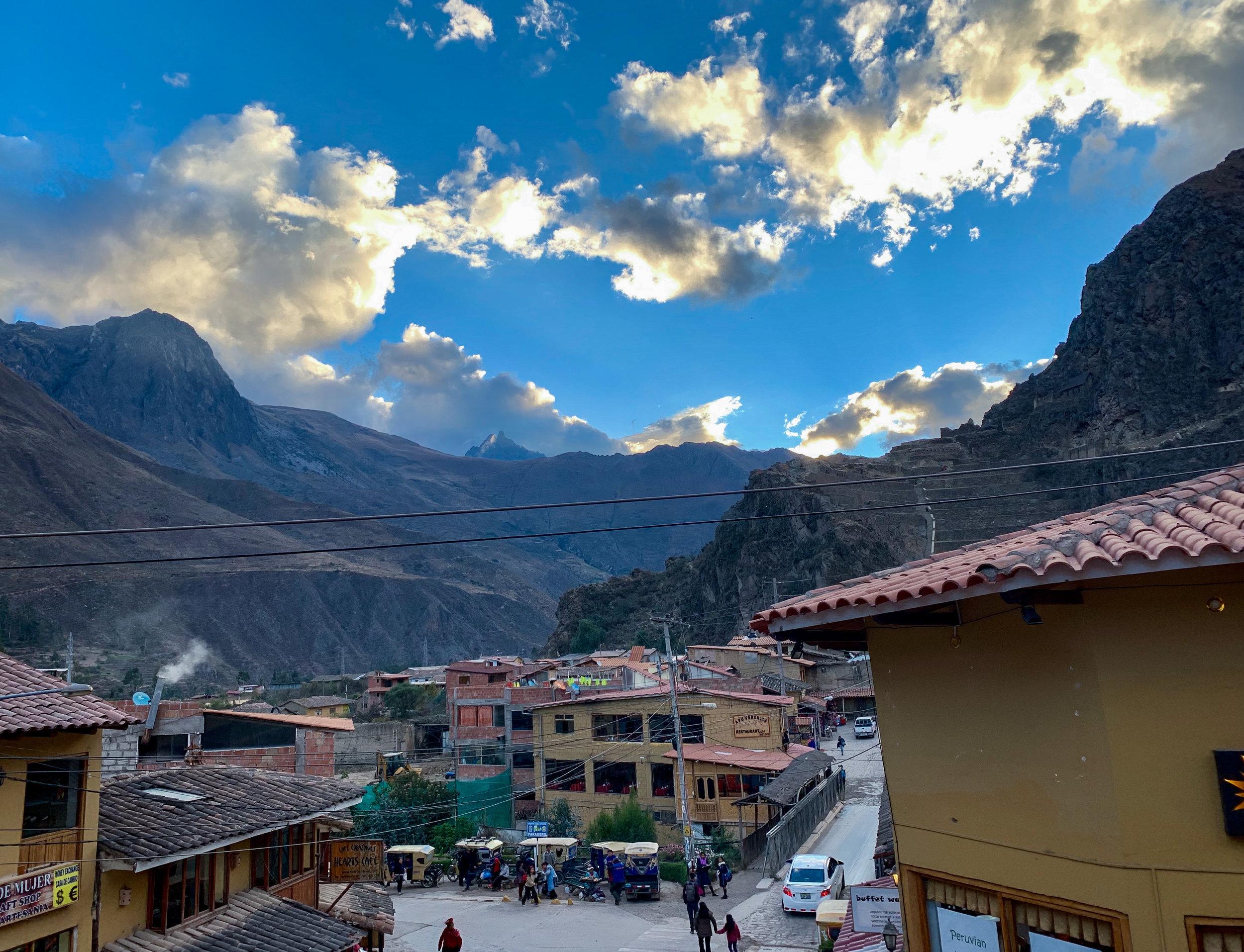 Happy Hour in the Andes - Ollantaytambo, Cusco Region