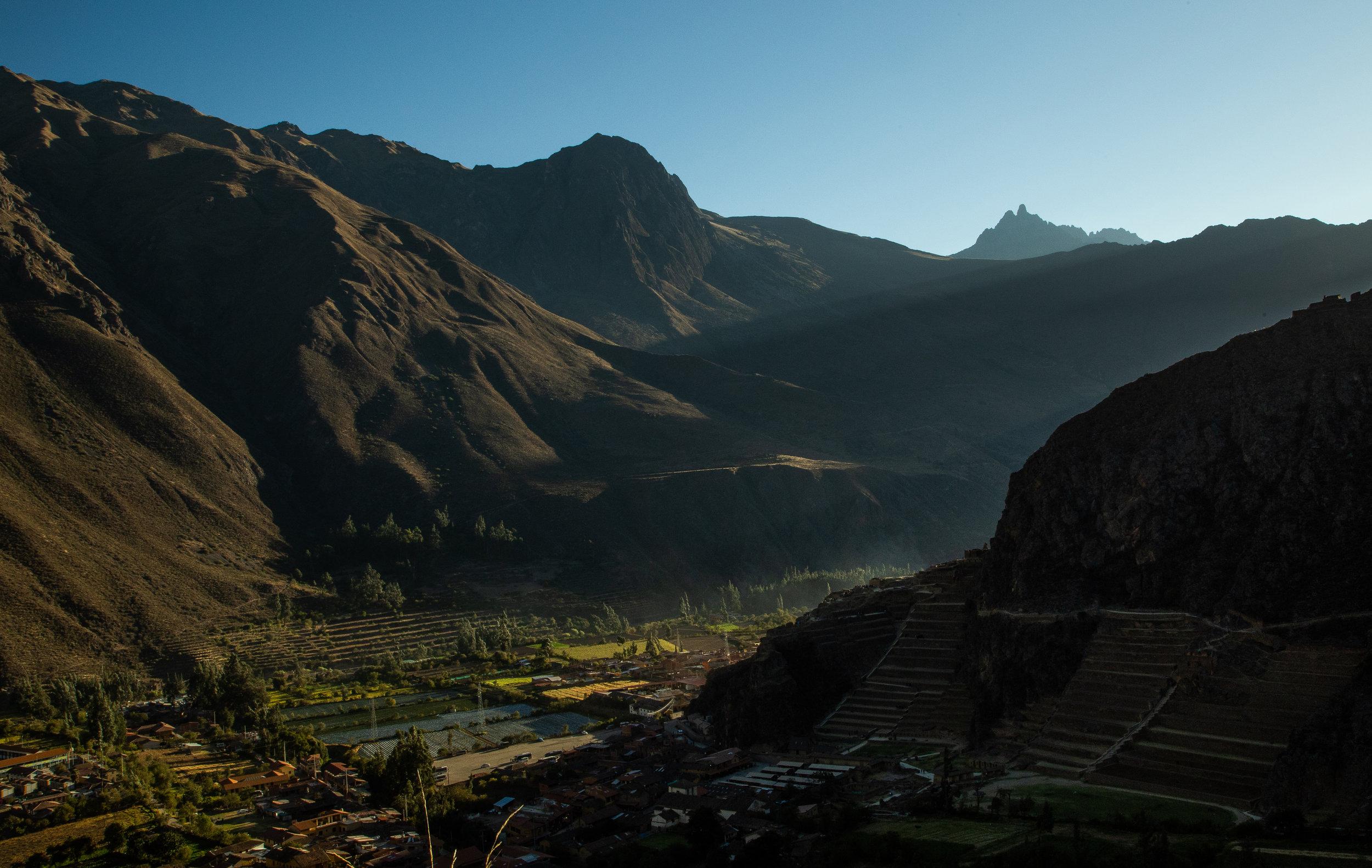 Sunset - Ollantaytambo, Cusco Region