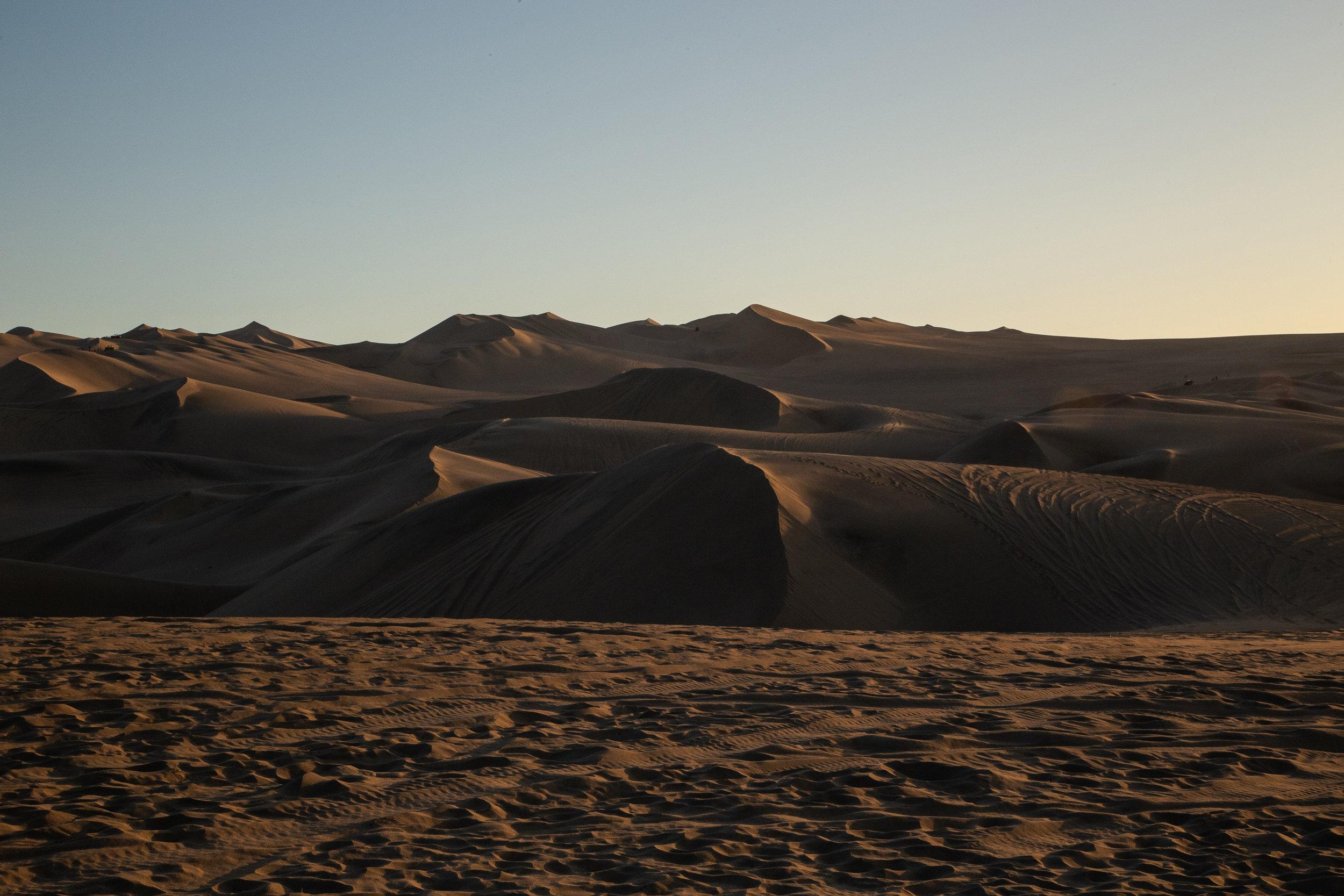 Moody Dunes - Huacachina