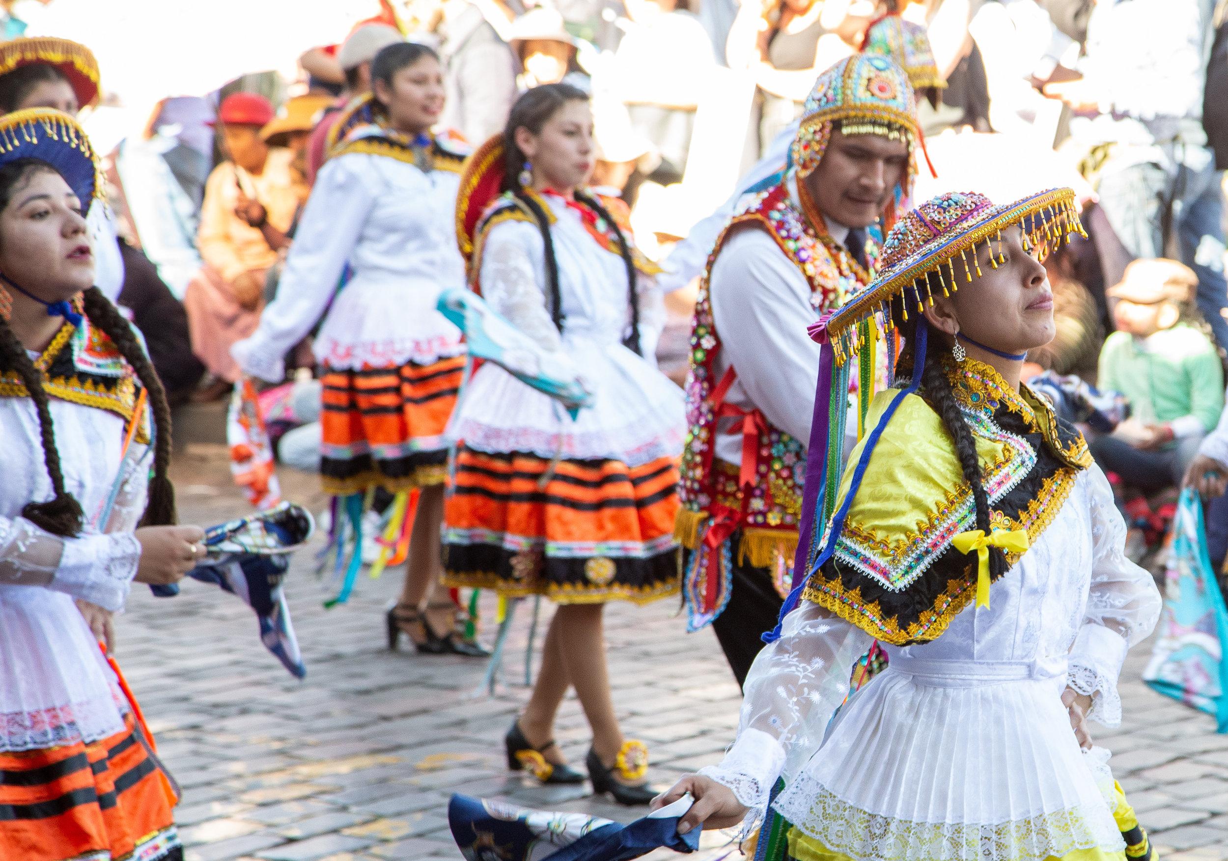 Parade of Ladies - Cusco