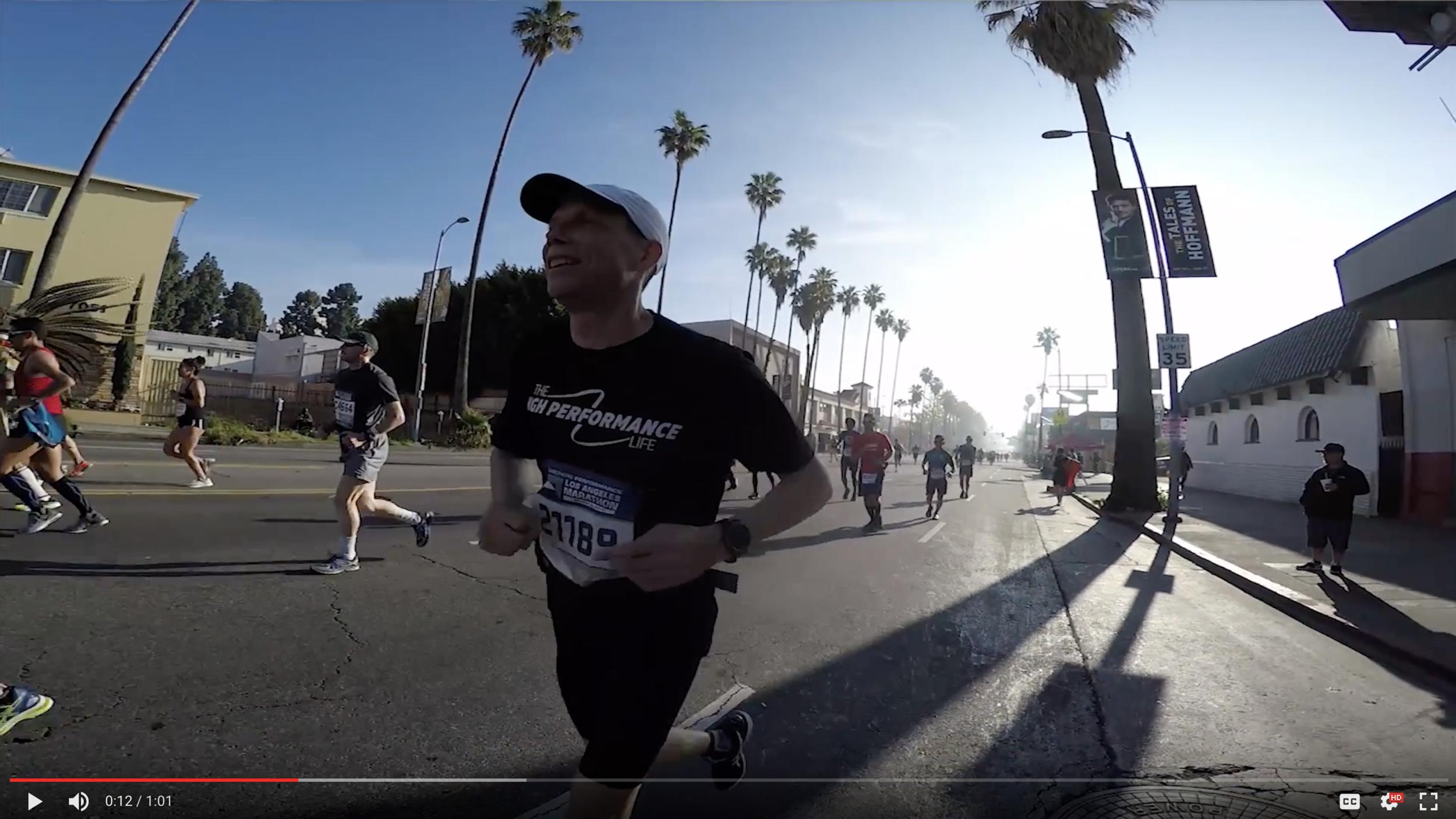 LA Marathon Recap