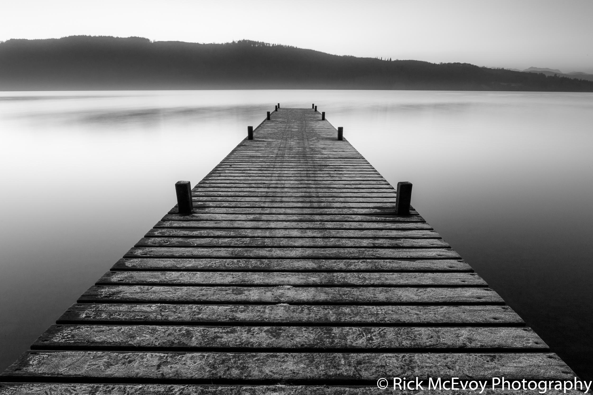Jetty, Lake Windermere, Lake District, Cumbria, by professional photographer Rick McEvoy