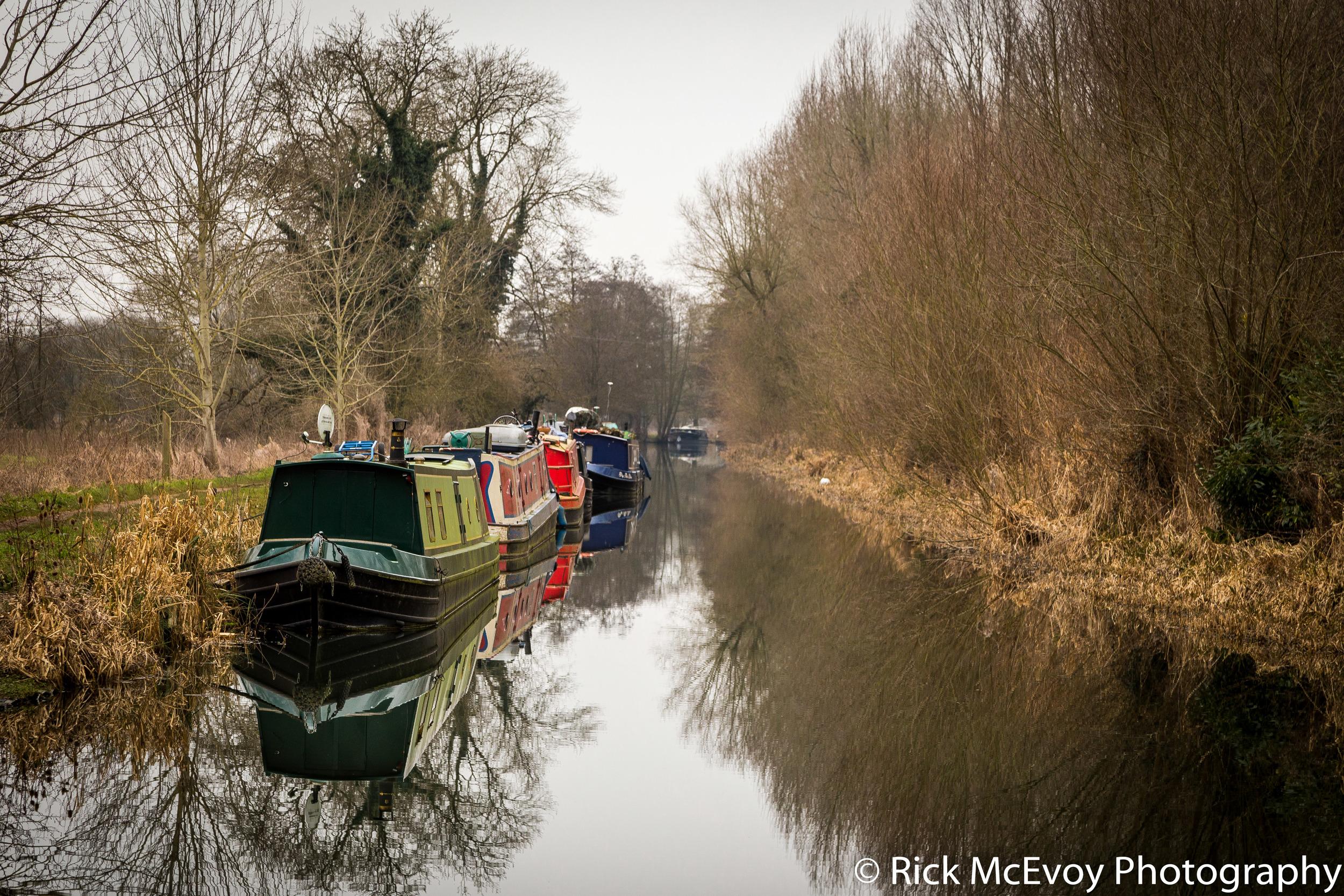 Canal, near Oxford, England
