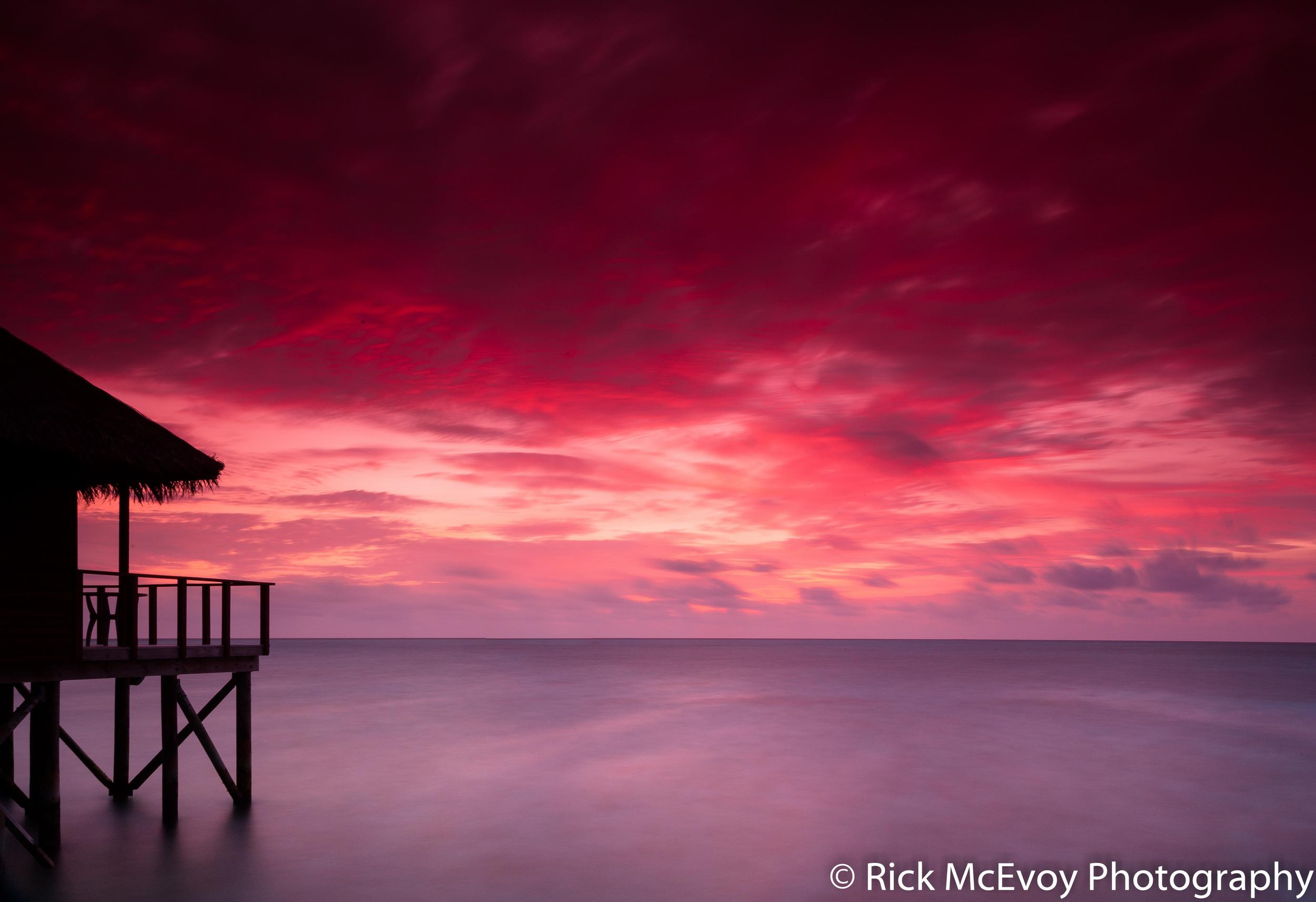 Maldives - fantastic shot by fantastic photographer Rick McEvoy