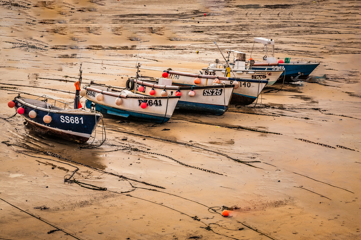 Boats, St Ives, Cornwall, by Rick Mcevoy Cornwall Photographer