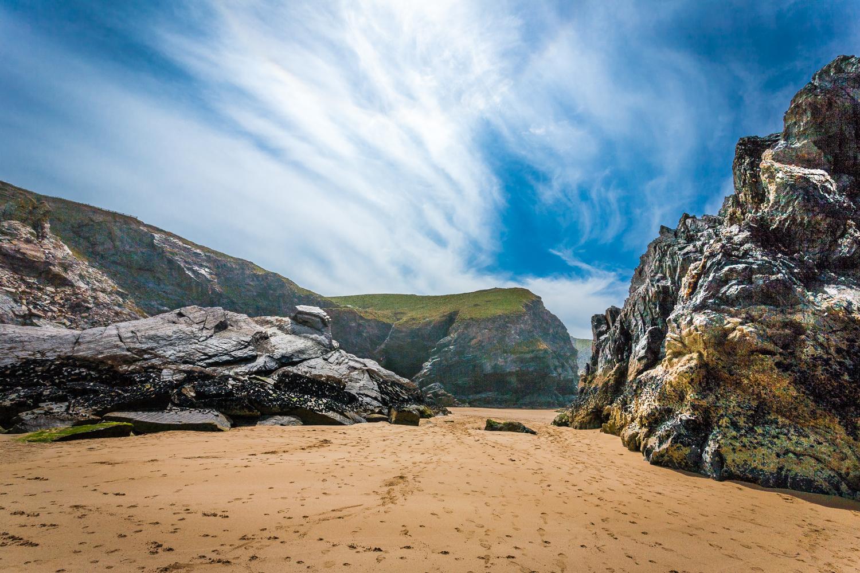 Bedruthan Steps beach by Rick McEvoy Photographer Cornwall