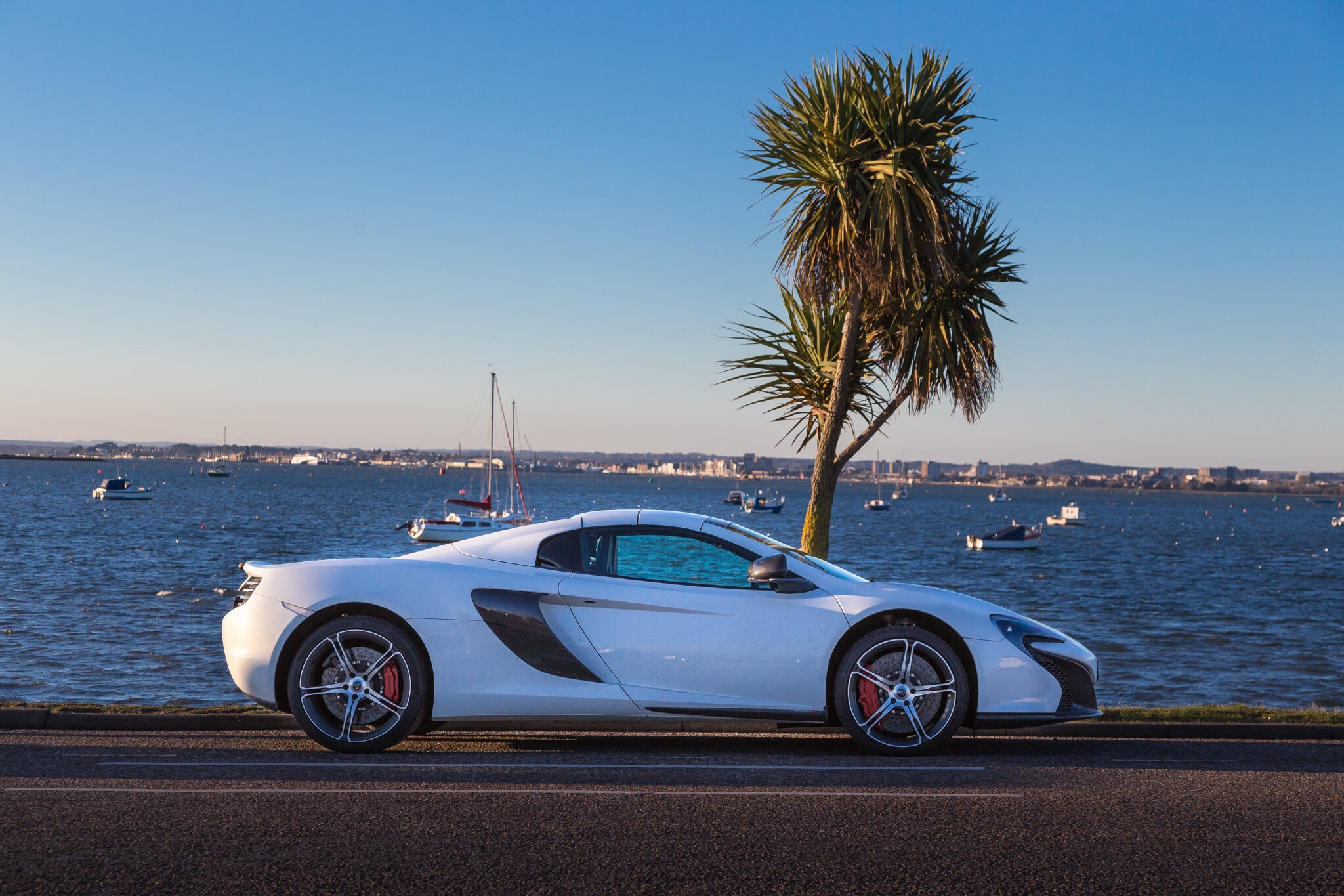 McLaren, Sandbanks, Dorset, by Rixk McEvoy car photographer