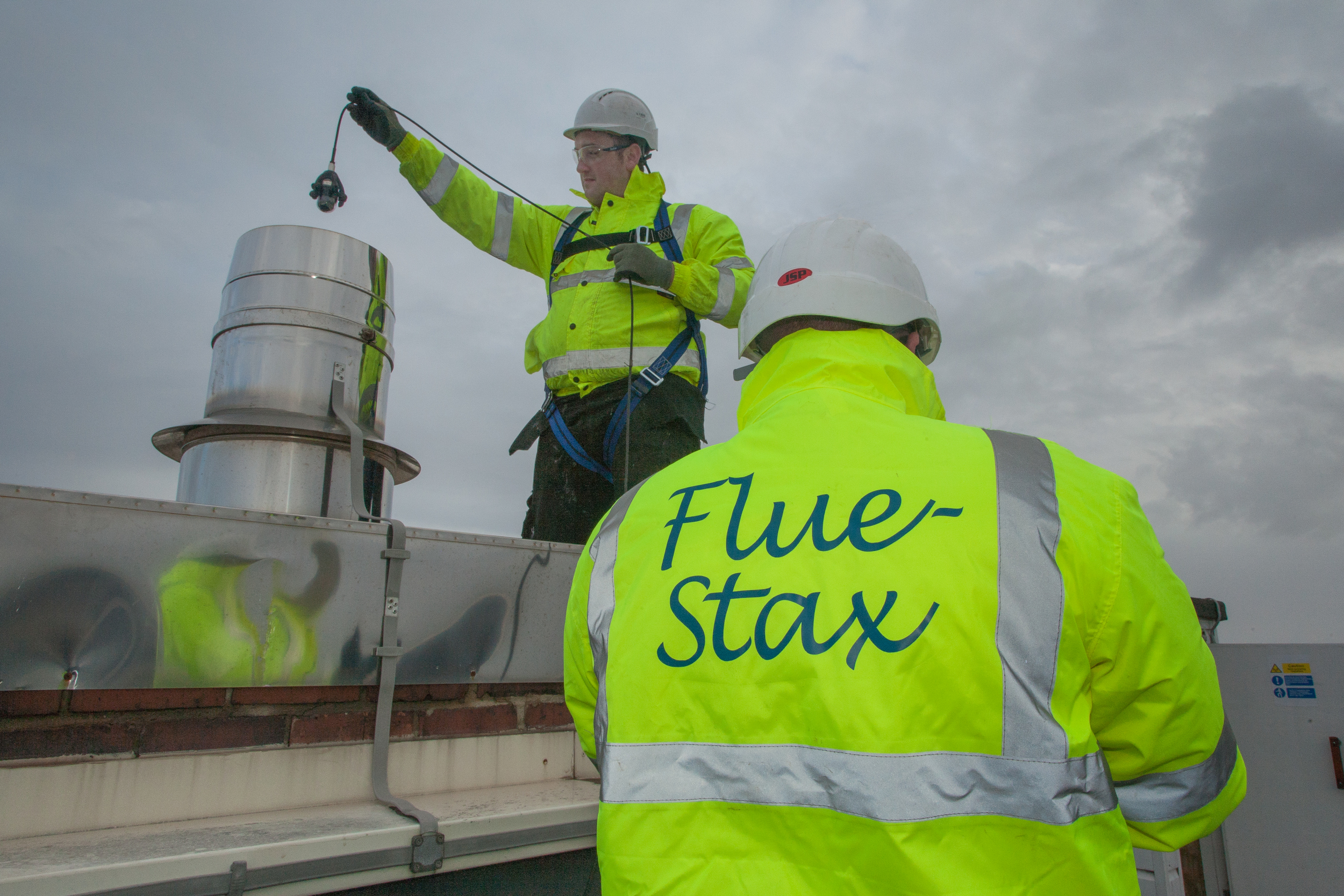 Flue Inspection by Flustax, Premier Inn Hotel, Bournemouth - commercial product photography by Rick McEvoy