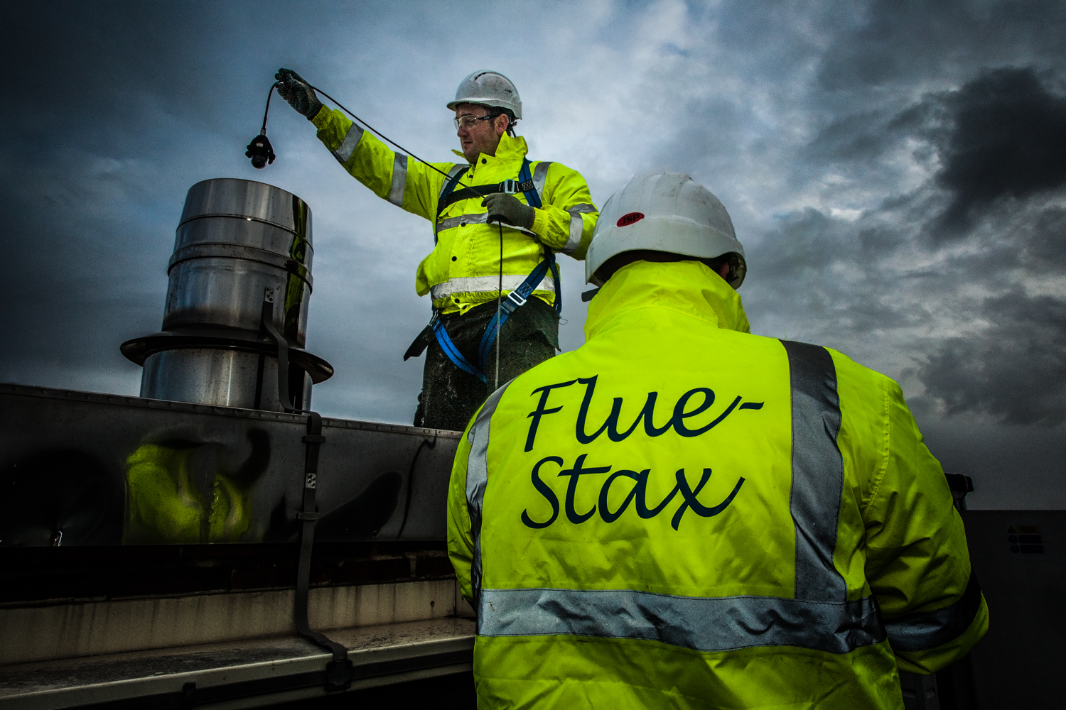 Fluestax, Premier Inn, Bournemouth, by Rick McEvoy Industrial photographer