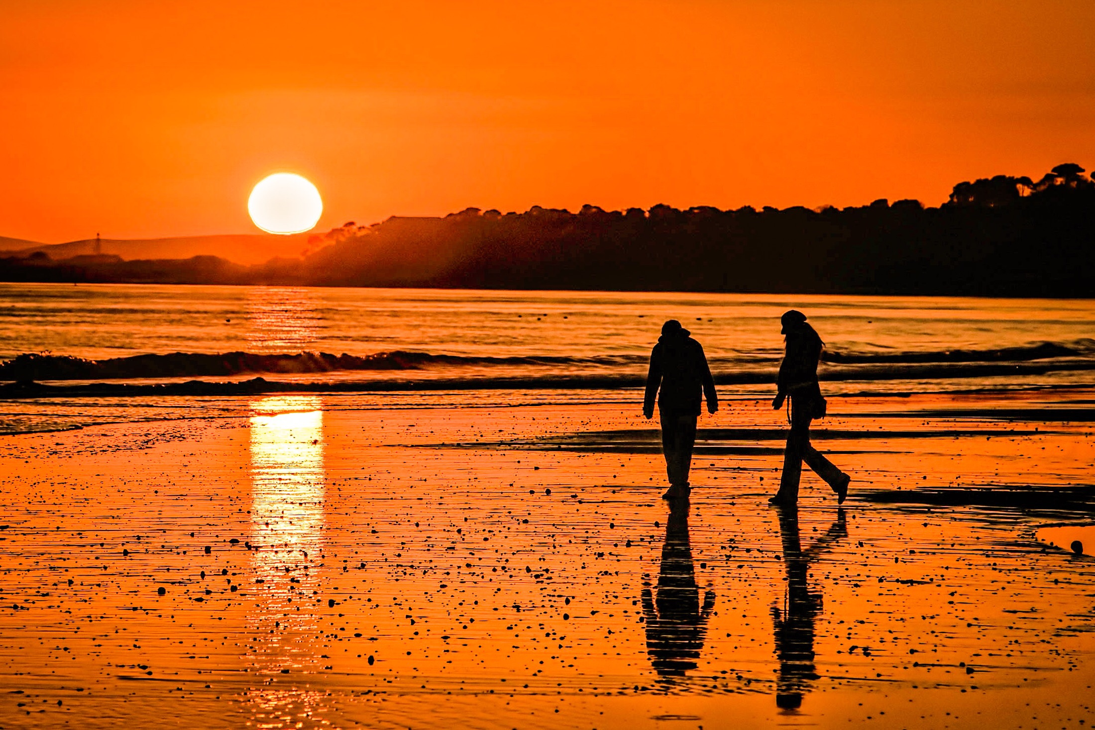 Sunset by Rick McEvoy Bournemouth Photographer
