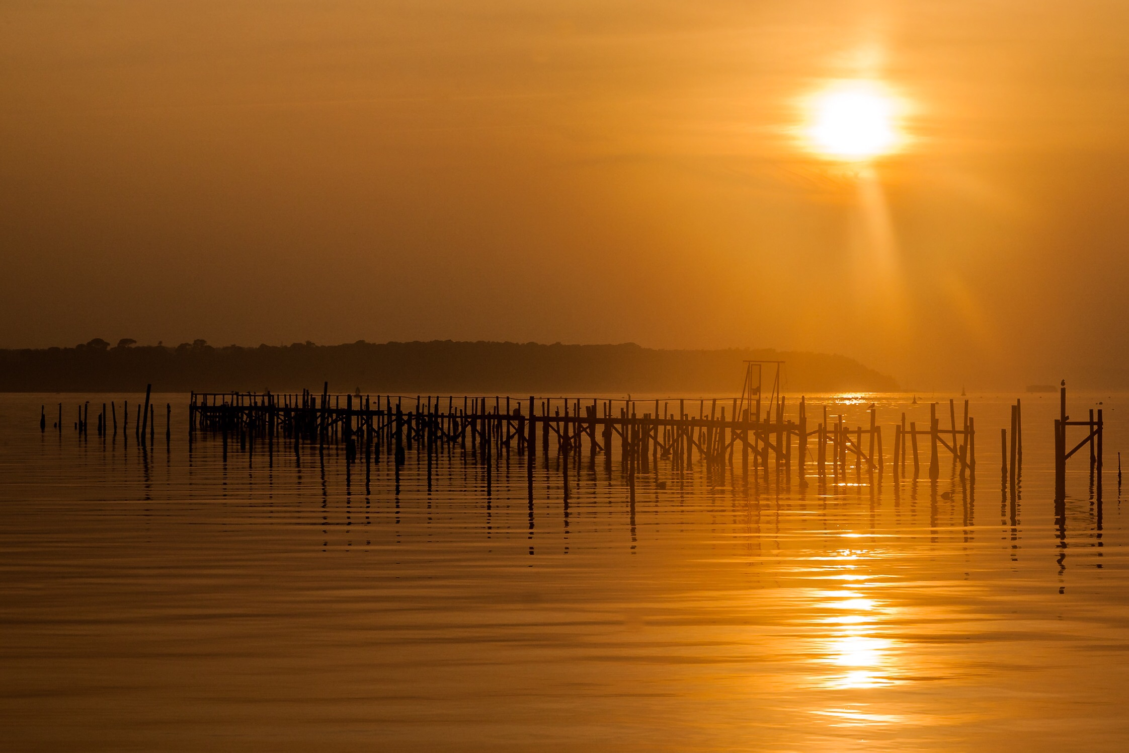 Picture of a Sandbanks Sunset, Poole, Dorset