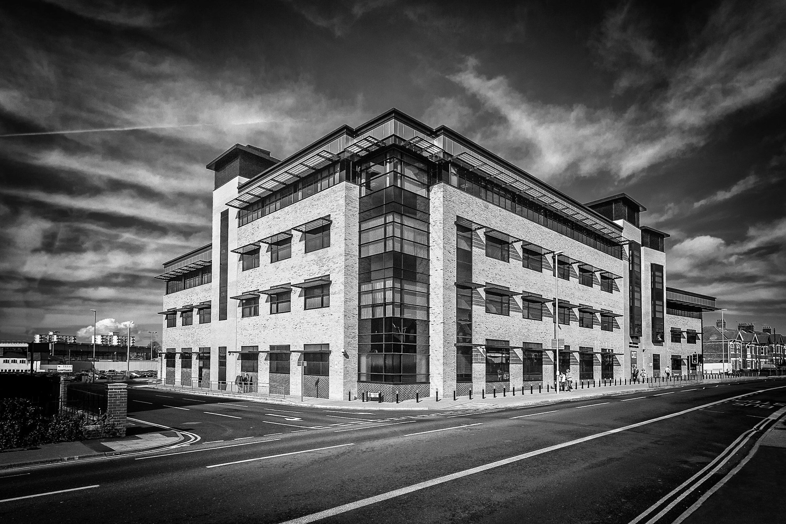 Joint Emergency Services Building, Poole, Dorset - architectrual photography by Rick McEvoy