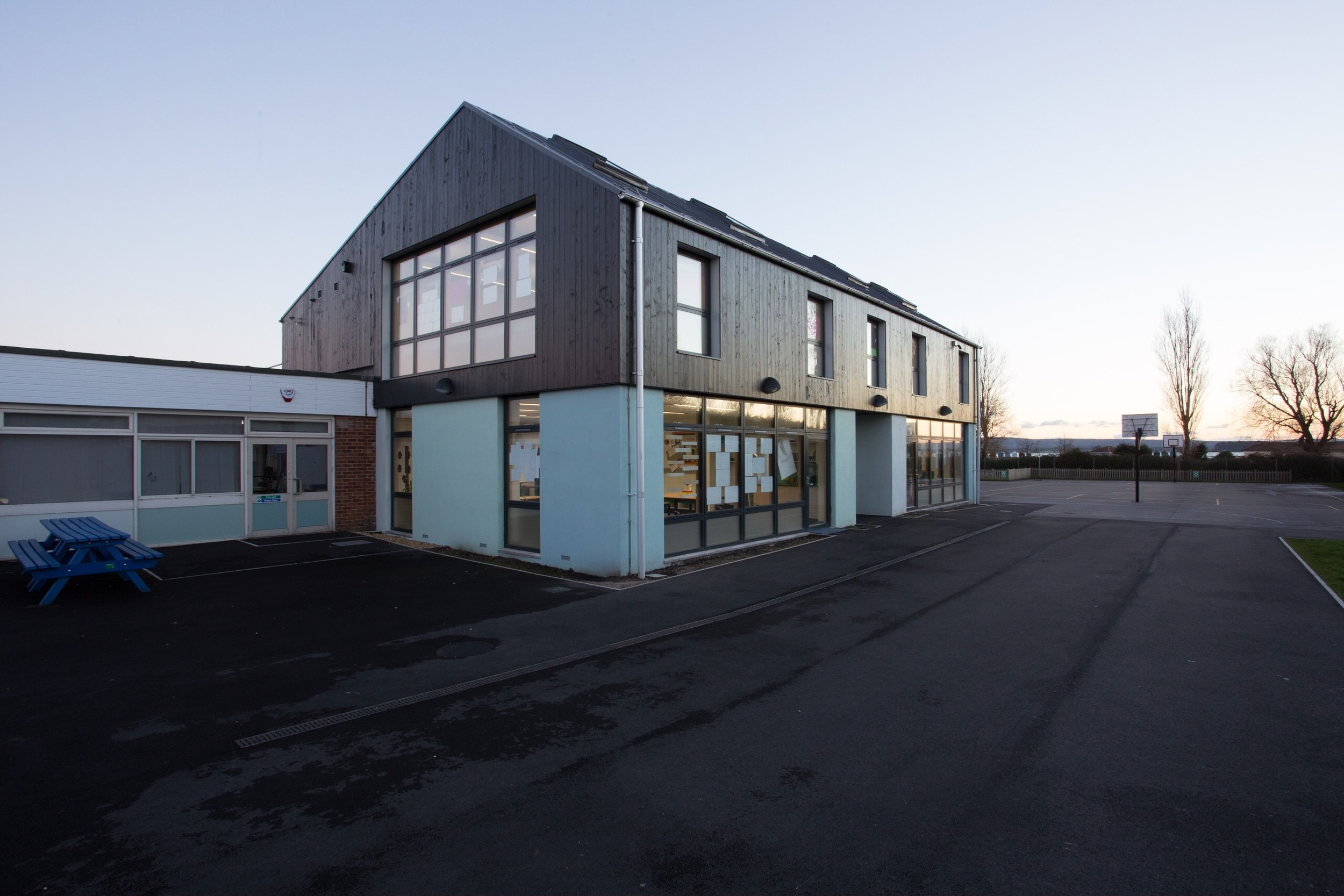 Hamworthy Park Junior School extension for the client, the Borough of Poole