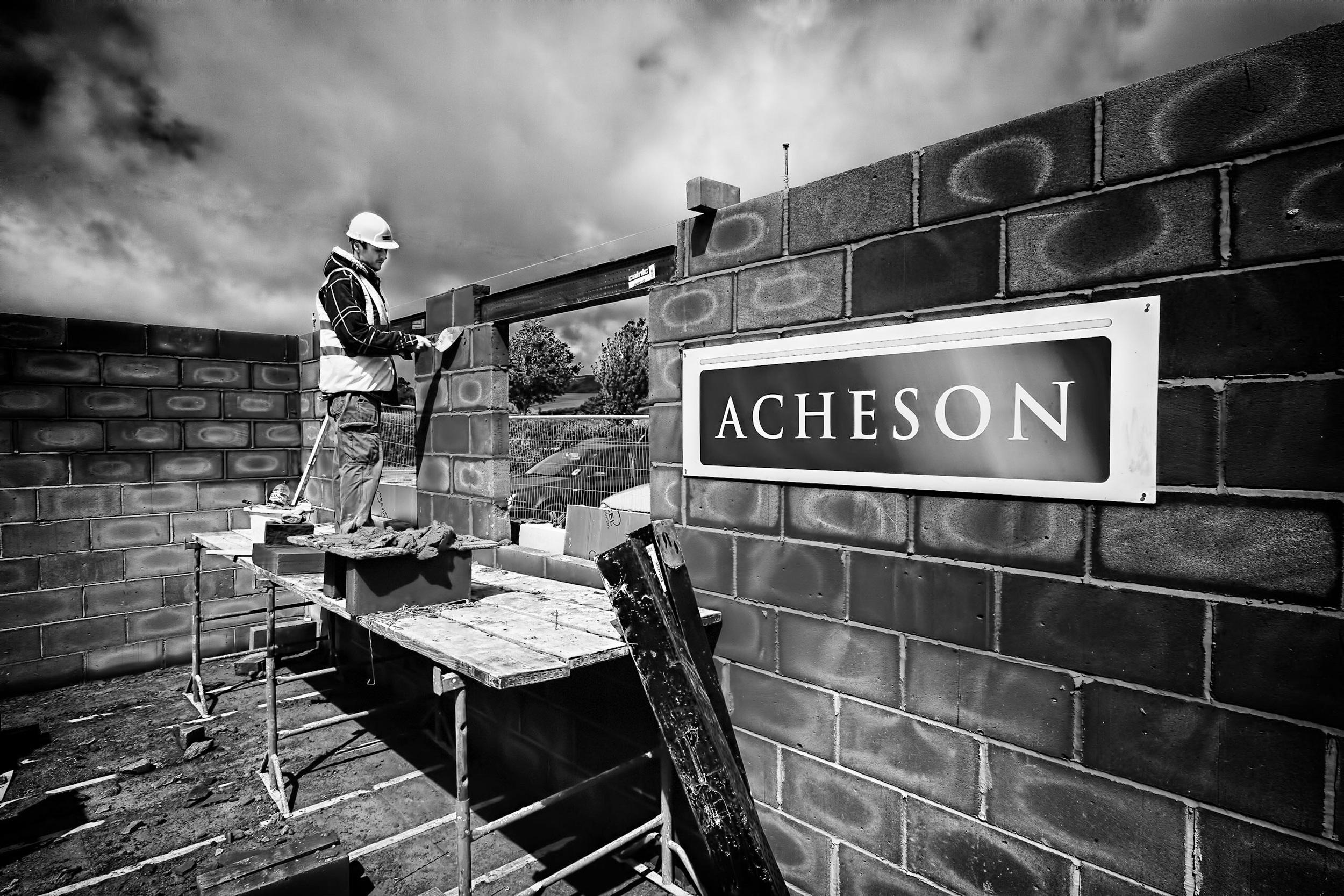 Catnic Lintol construction photography product shoot image, Corfe Castle, Dorset
