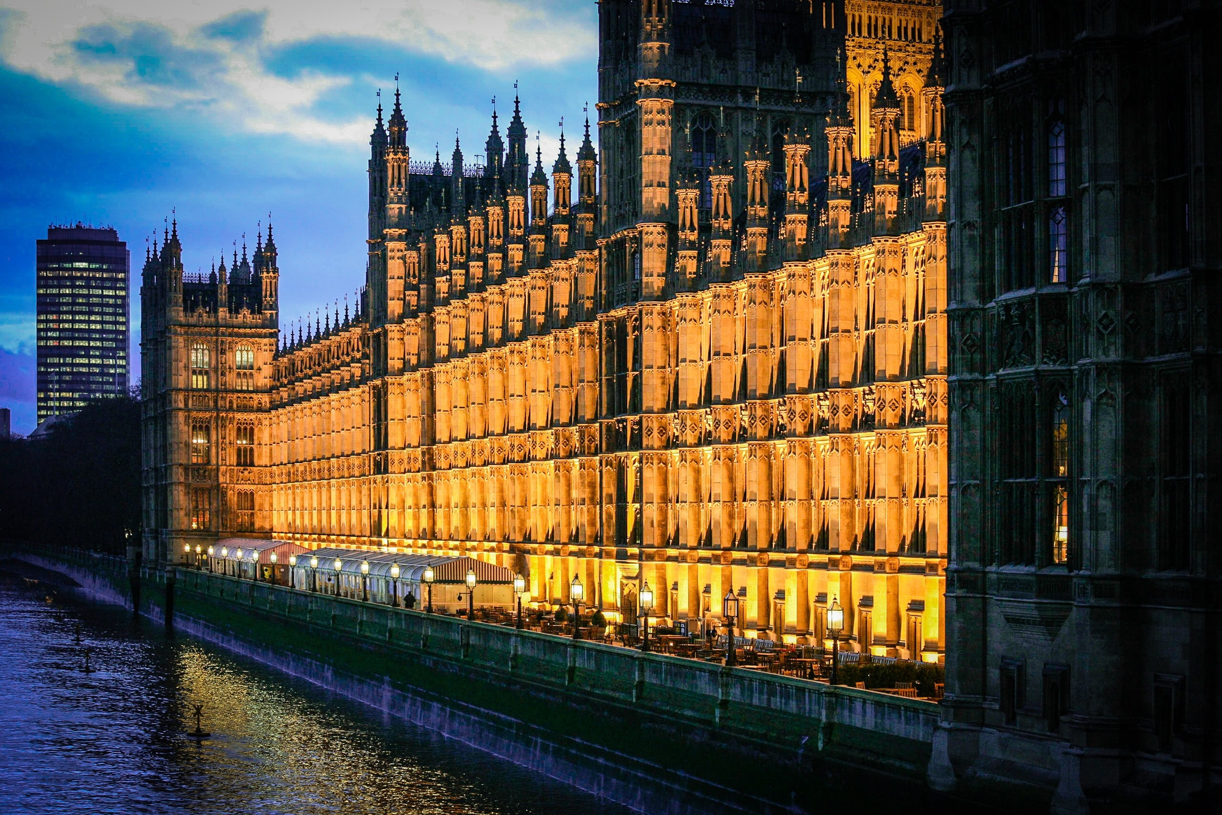 Houses of Parliament, The Palace of Westminster, London