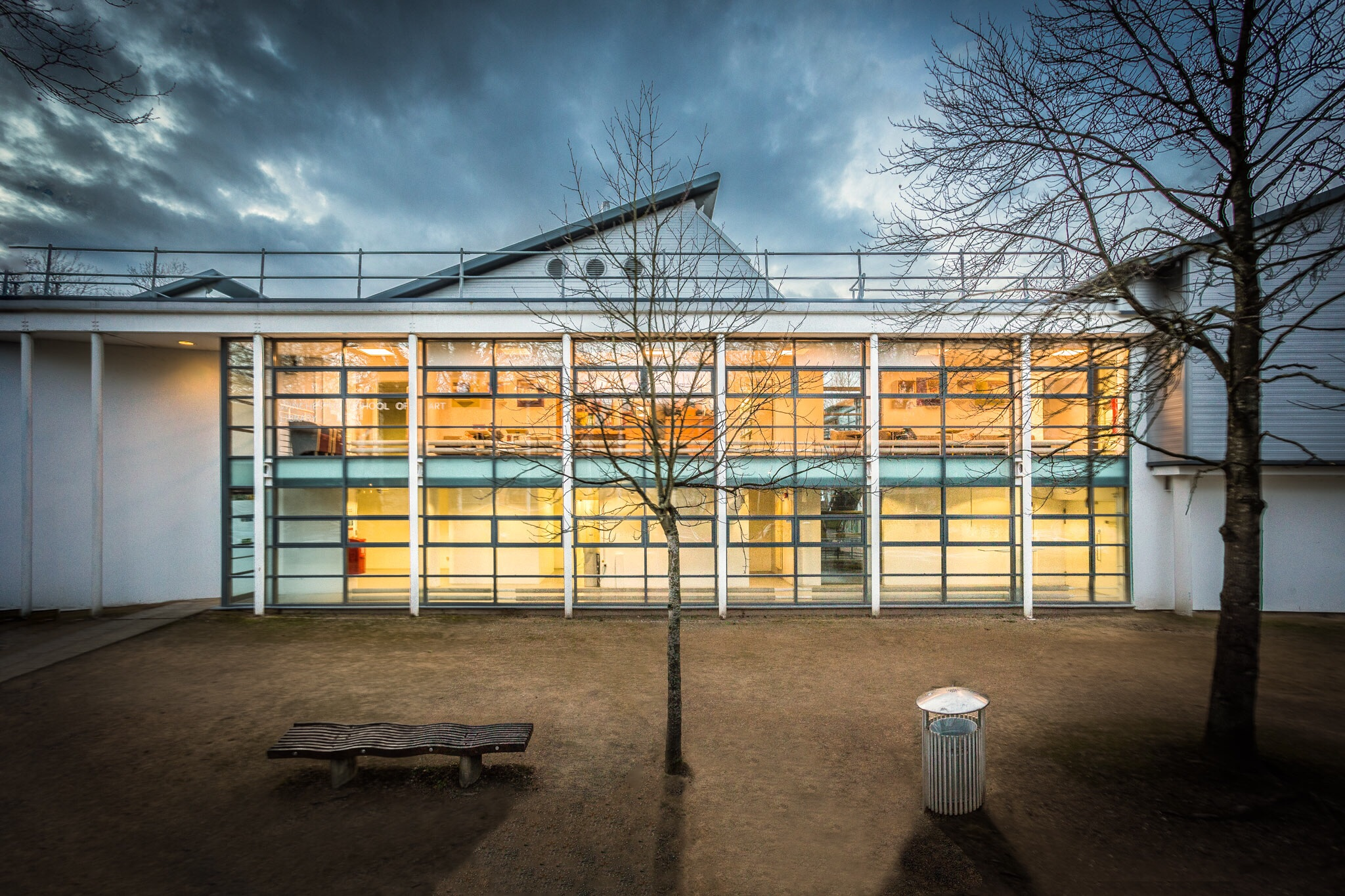 Winchester School of Art, part of the University of Southampton - Architectrual Photography by Rick McEvoy