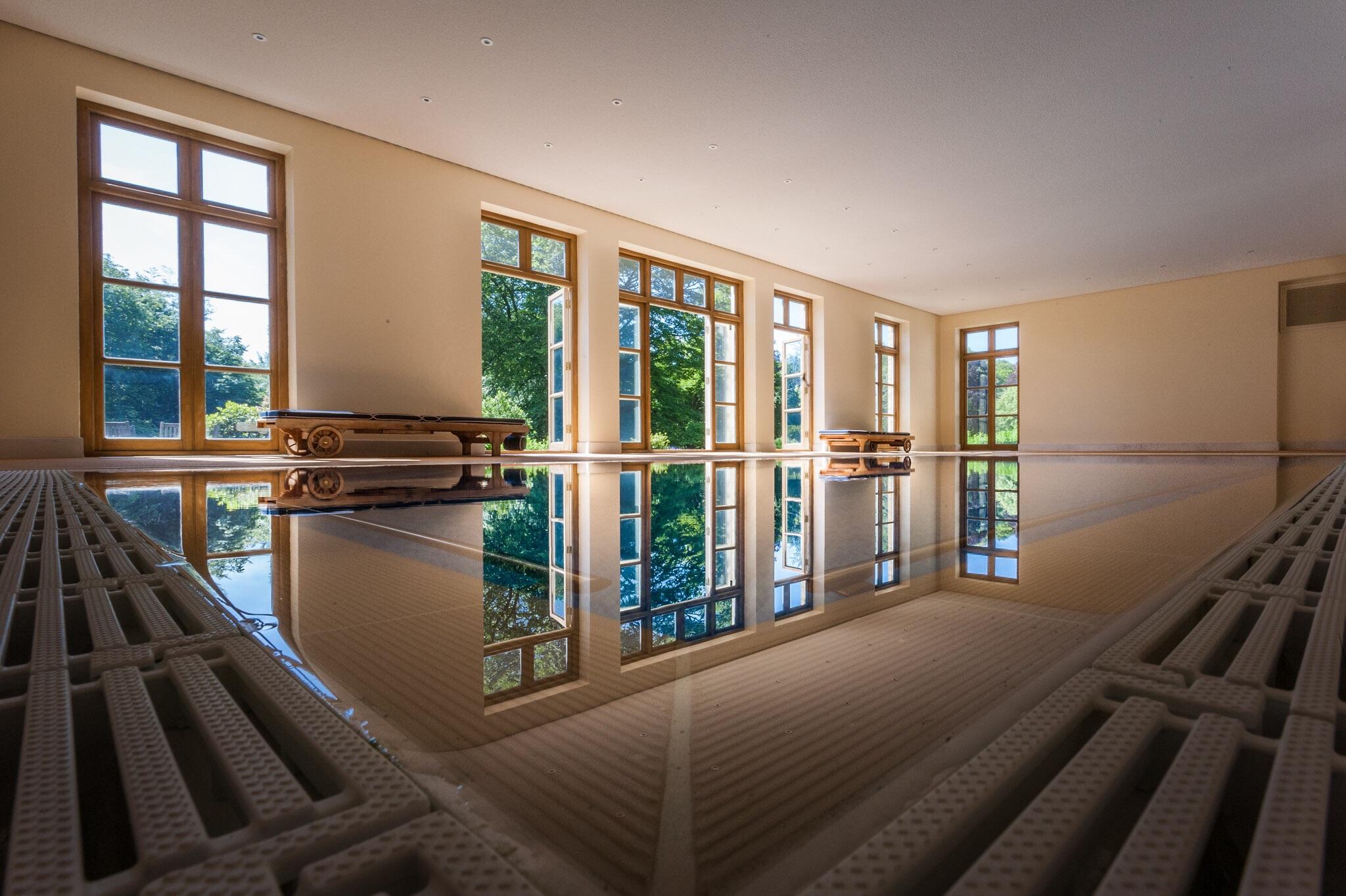 Swimming pool, Dorset, by Rick McEvoy Interior Photographer