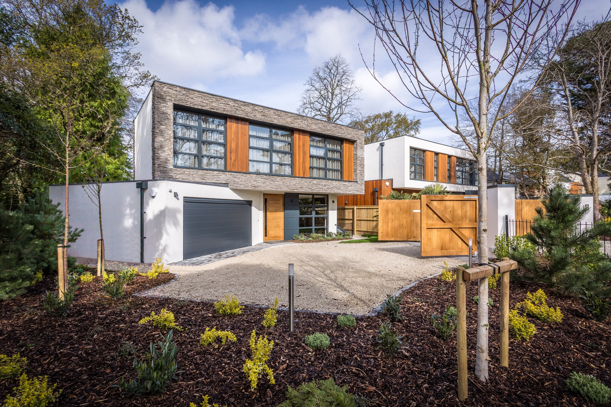 Picture of a brand new house in Poole, Dorset