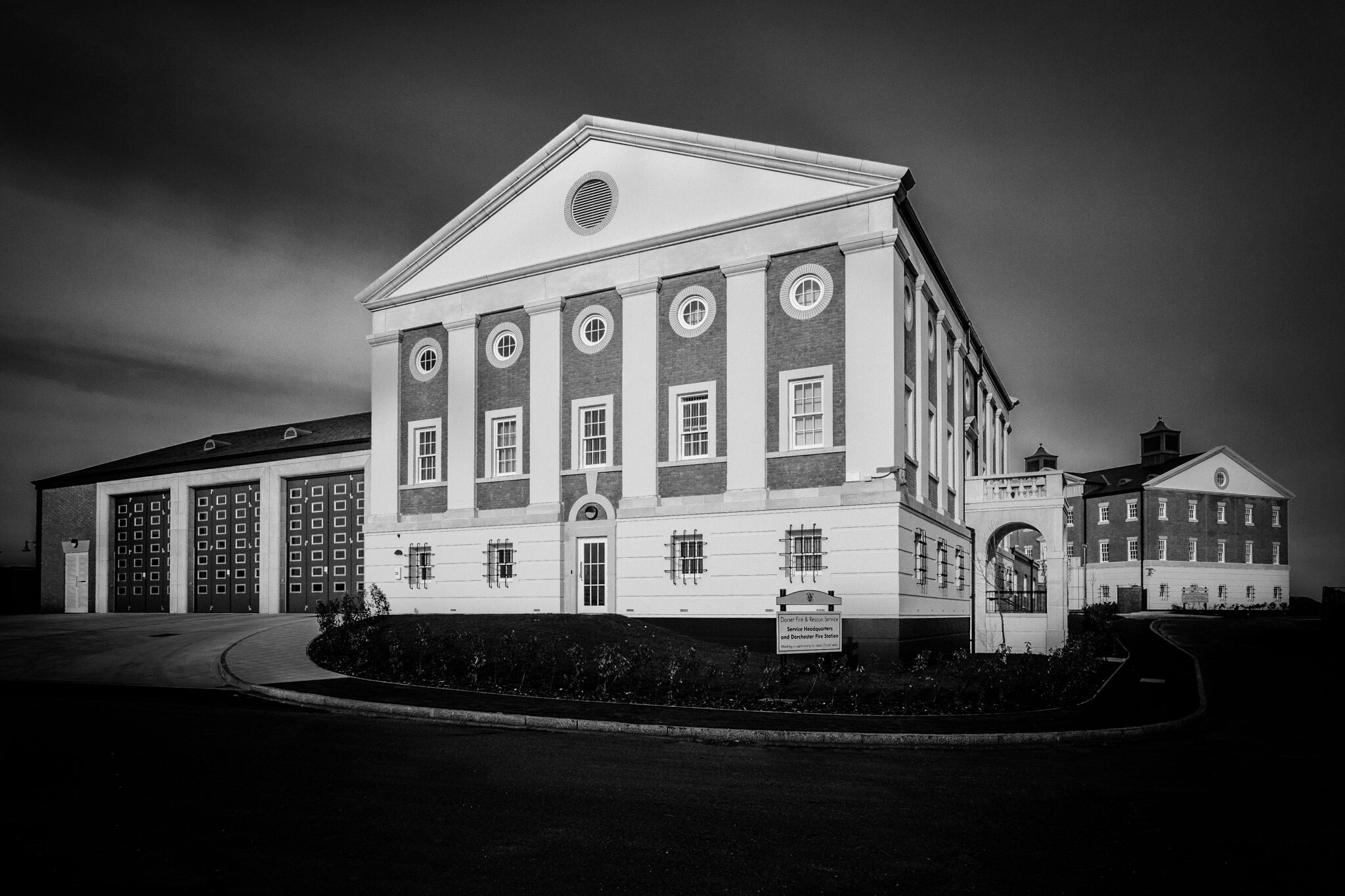 DFRS HQ and Dorchester Fire Station - architectural photography by Rick McEvoy
