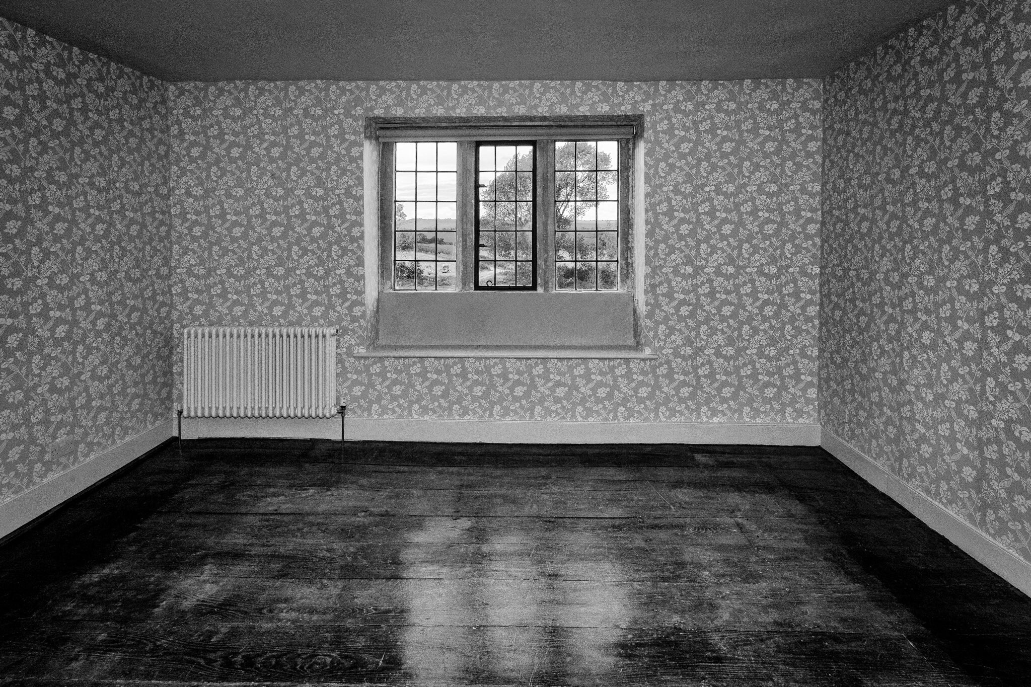 A room in Lower Bridmore Farm