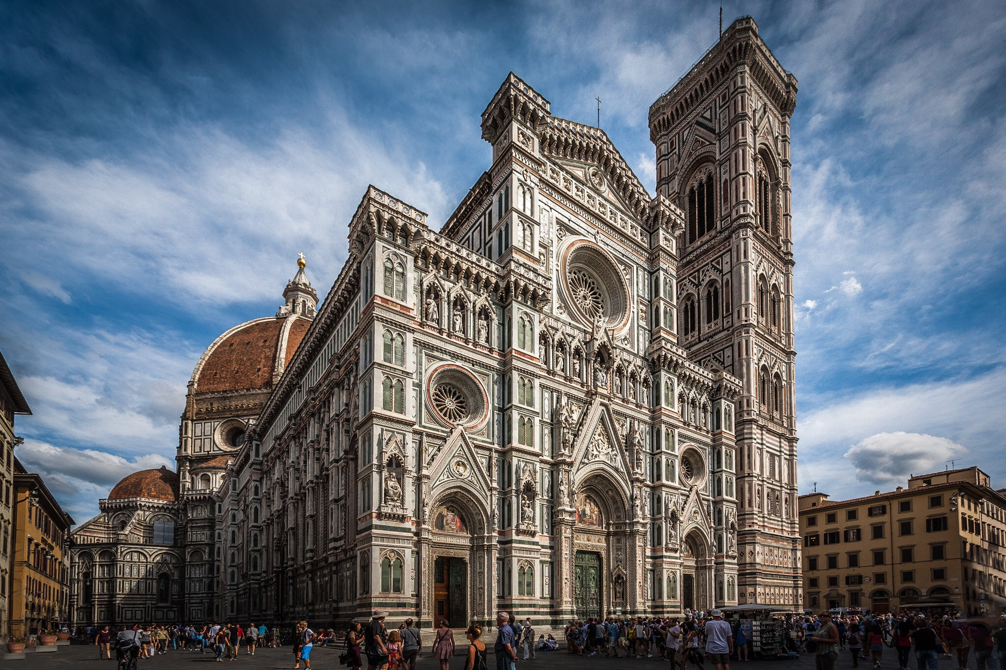 Duomo, Florence, Italy. Personal architectural photography work.