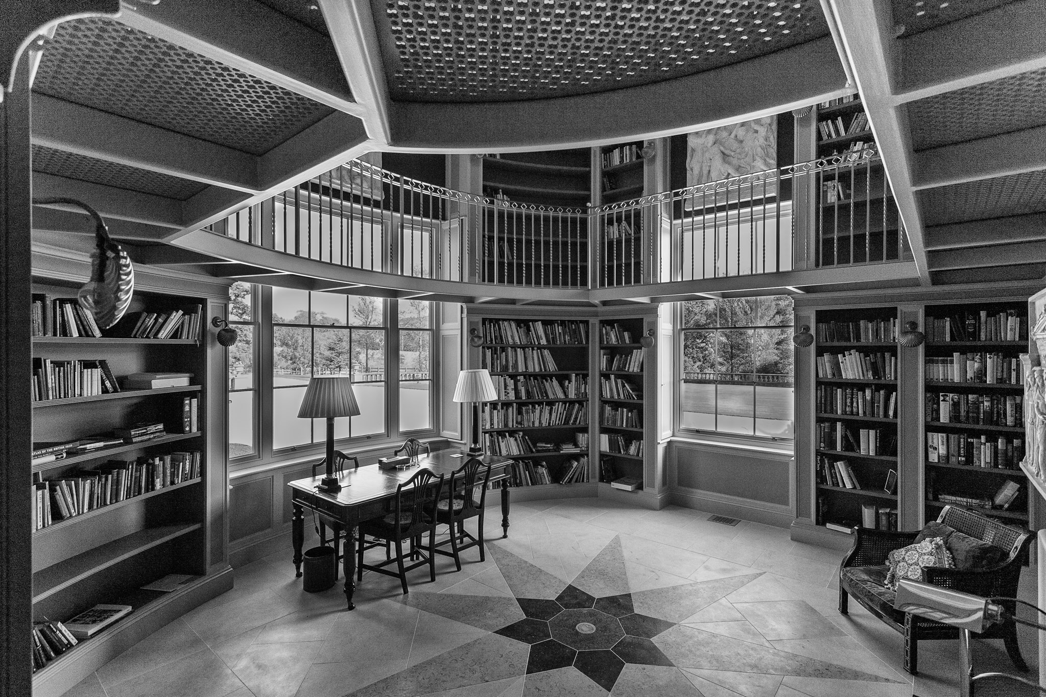 A new private library, Dorset. Stunning interior space.