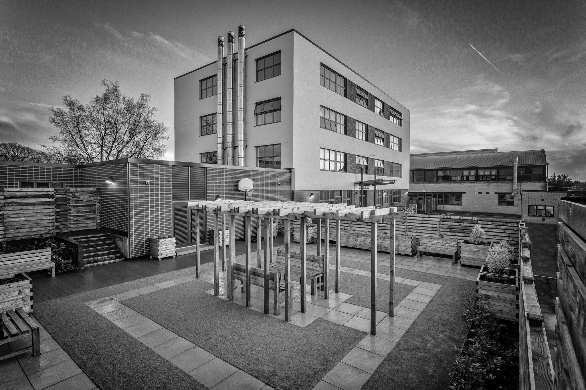 Horndean Technology College, completely refurbished for Hampshire County Council